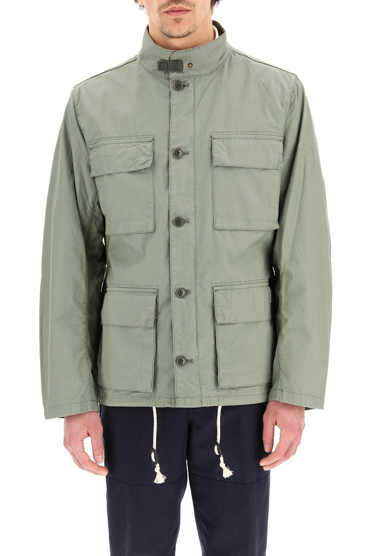 Barbour giacca casual flyn in cotone
