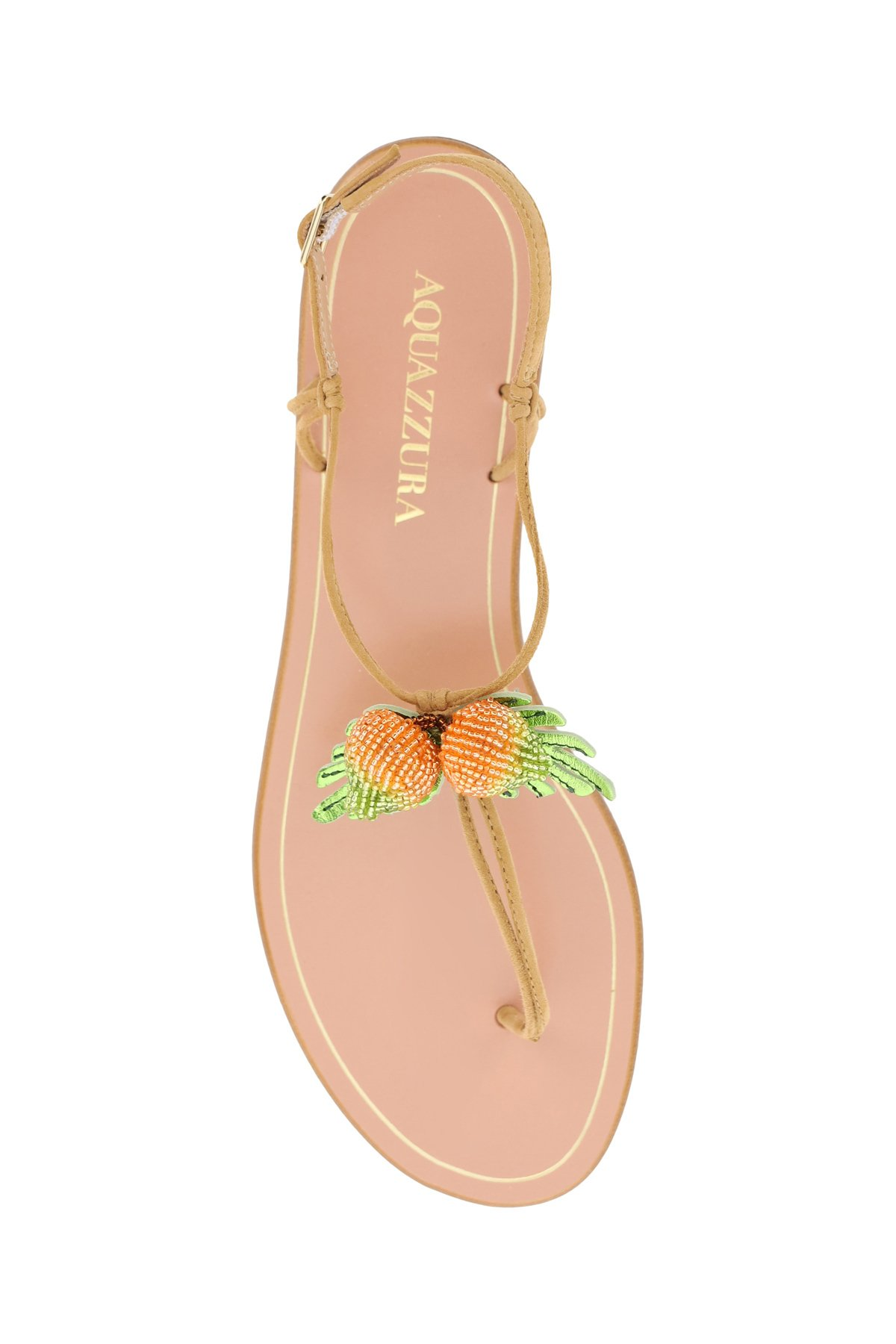 Aquazzura sandali manguito flat