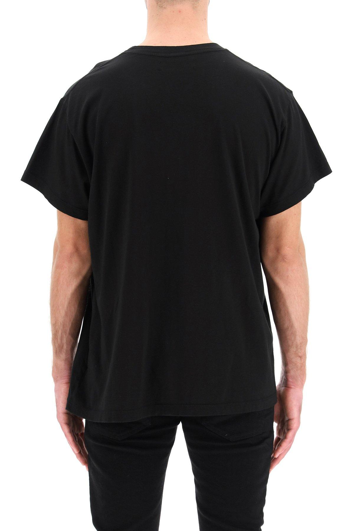 Amiri t-shirt logo amiri core