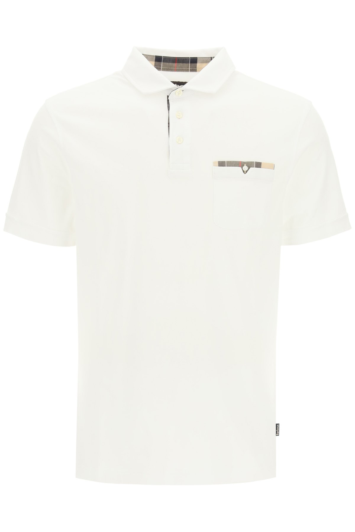 Barbour polo corpatch in cotone