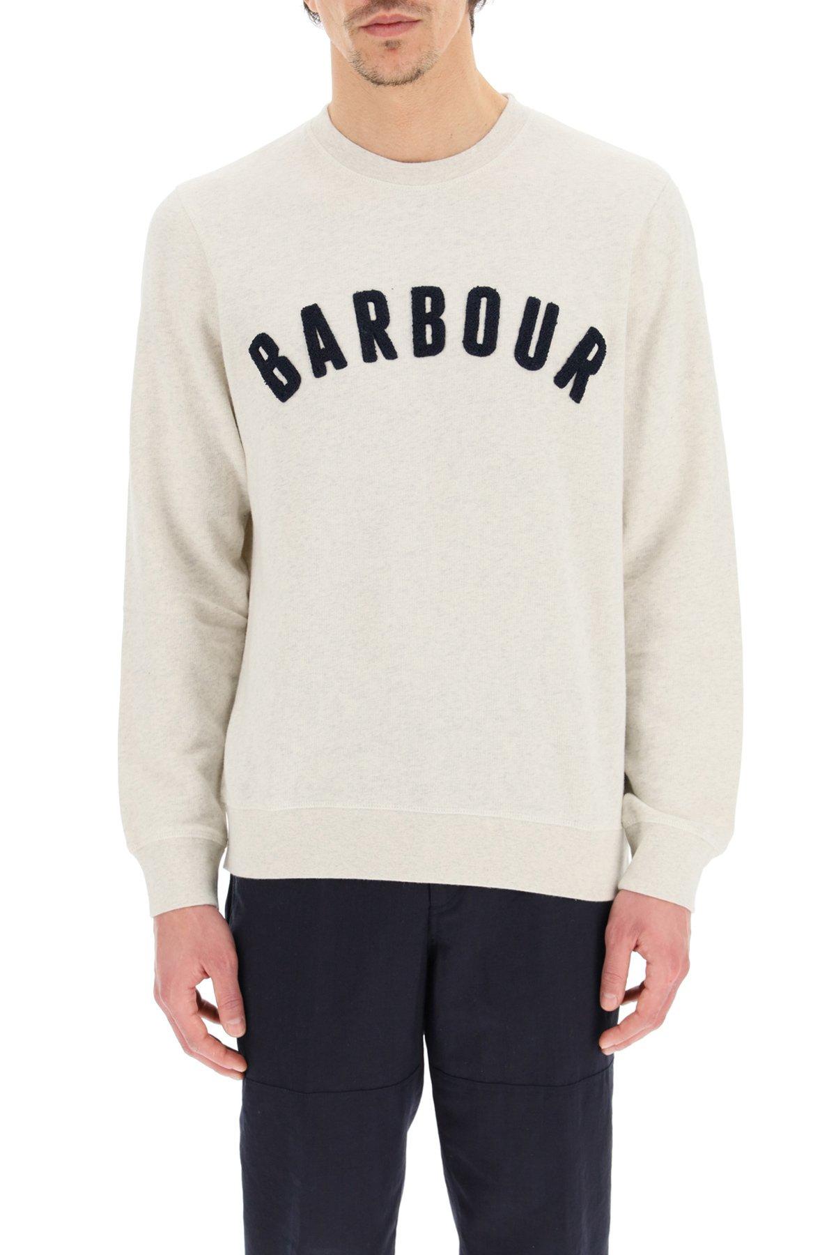 Barbour felpa logo barbour prep
