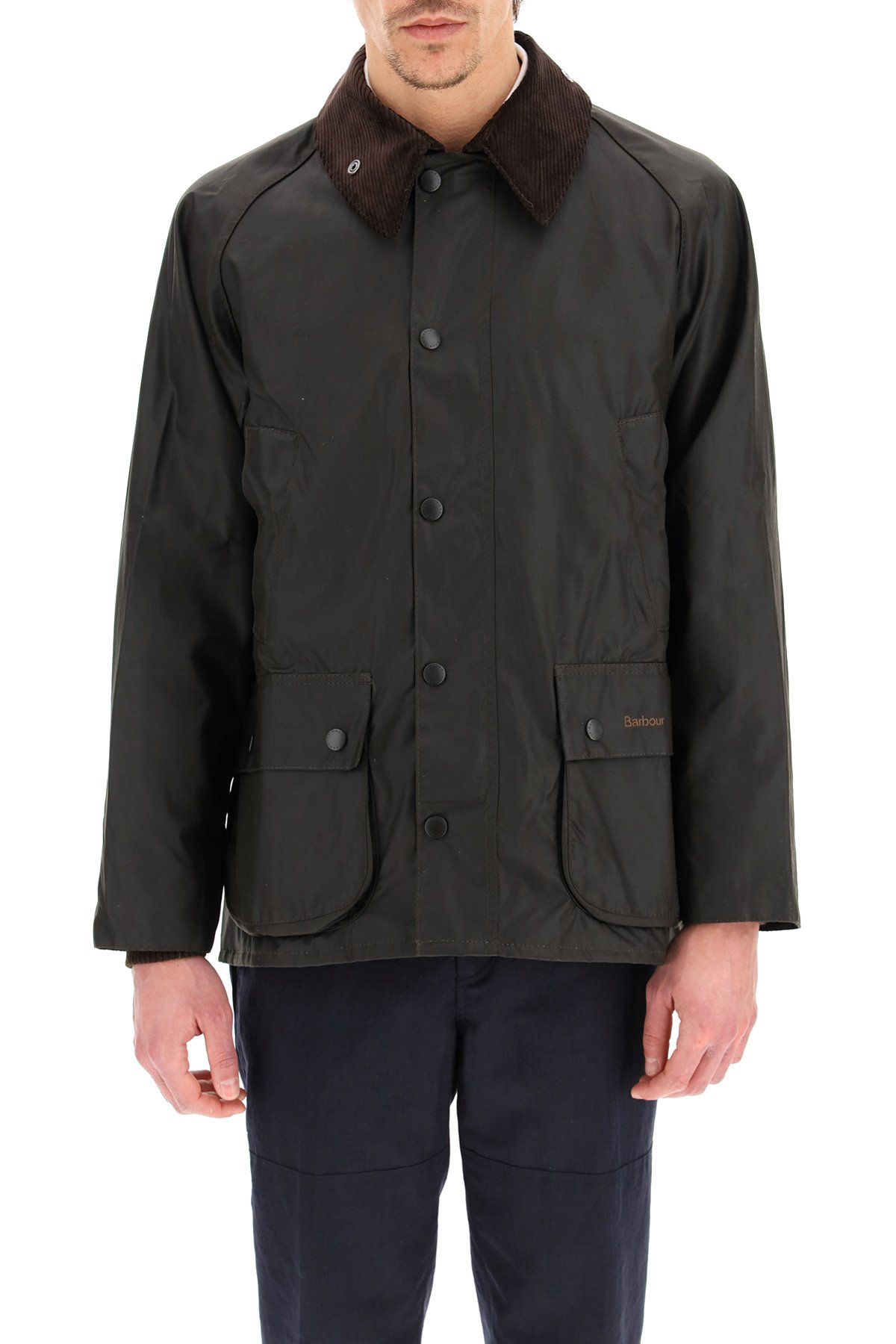 Barbour giacca classic bedale in cotone cerato