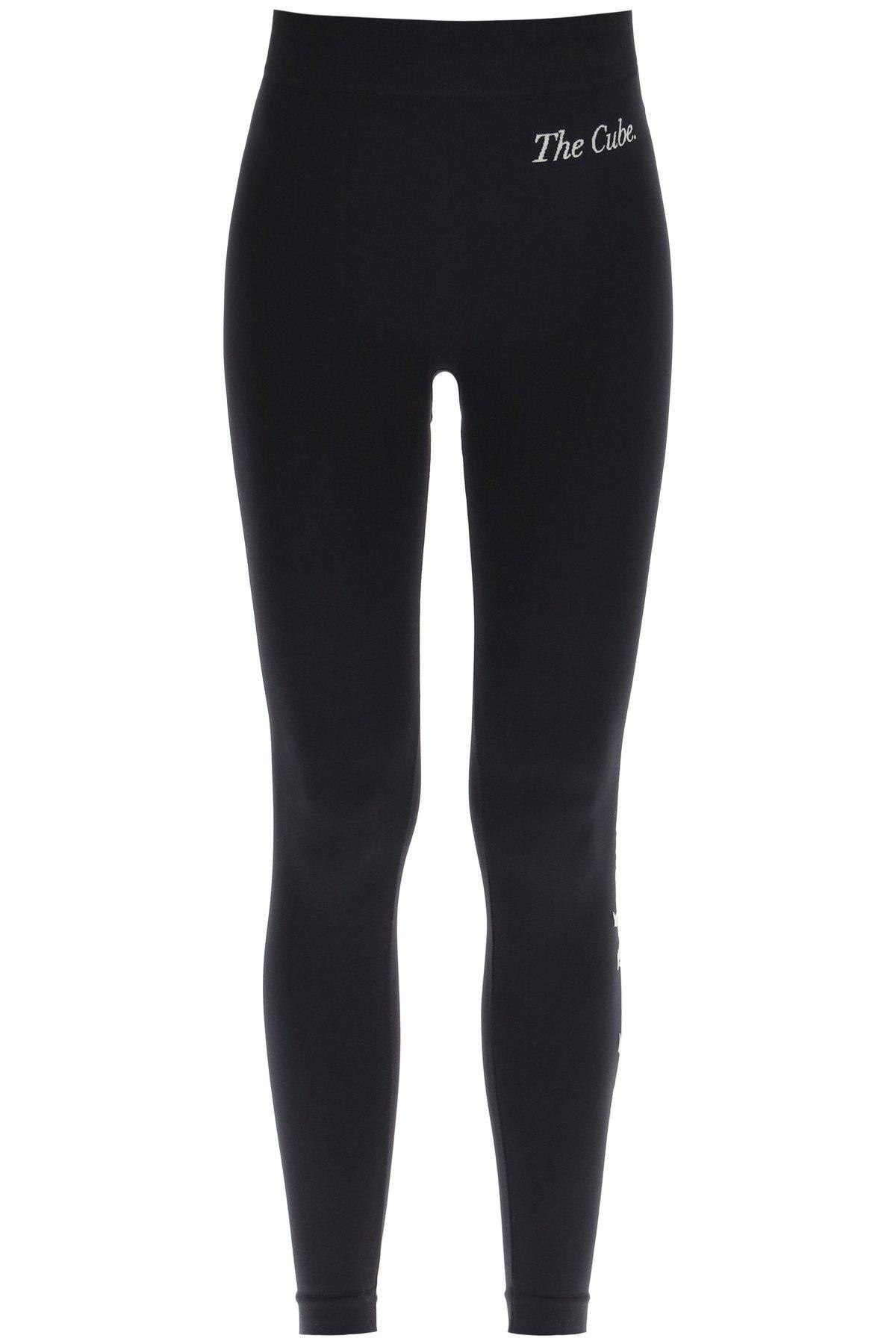 's max mara leggings niagara con logo