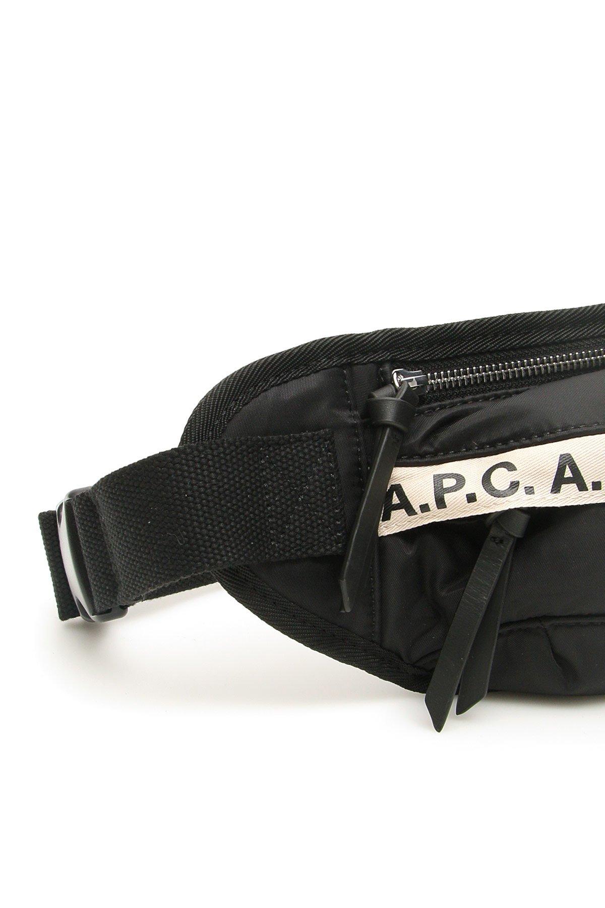 A.p.c. marsupio repeat logo