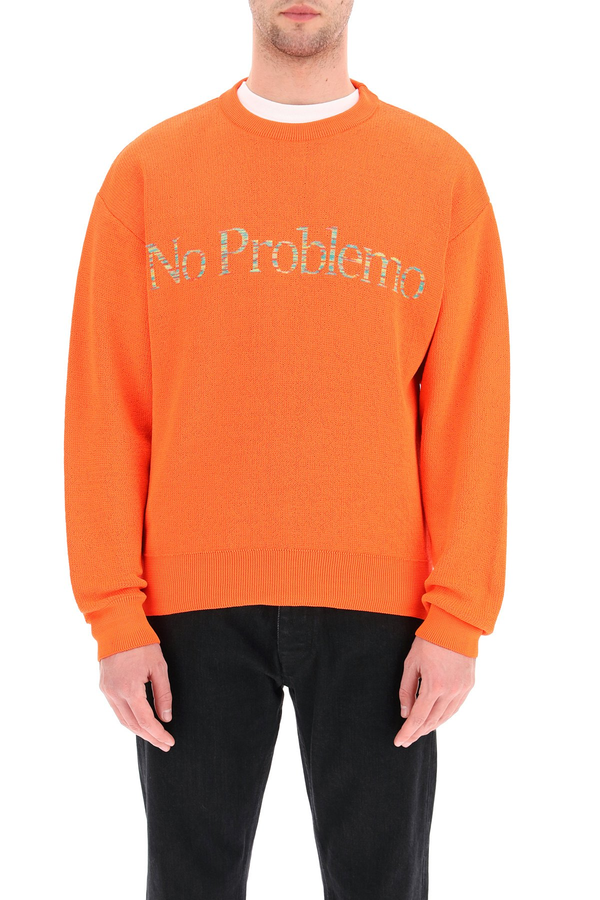 Aries pullover no problemo space dye