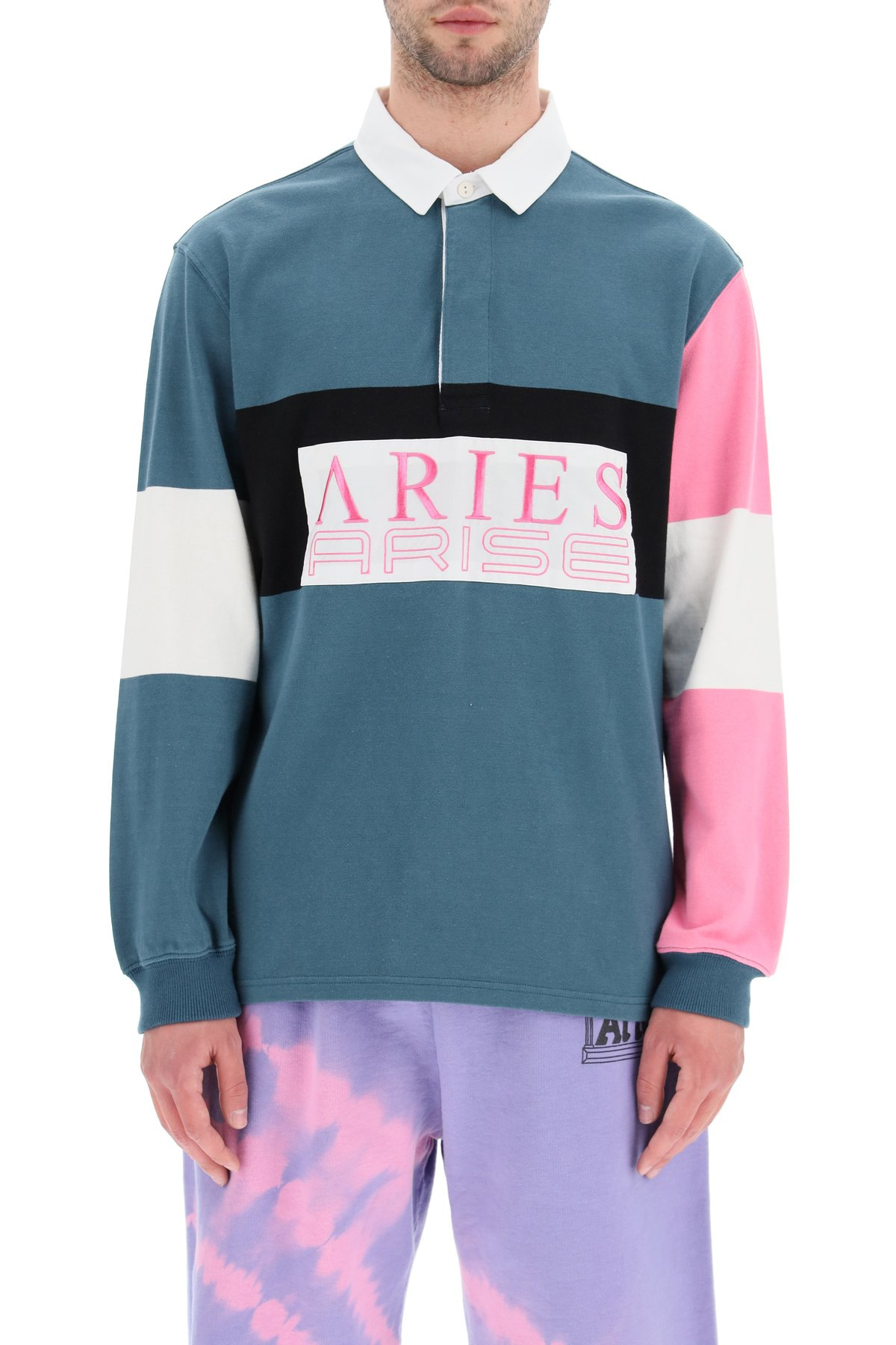 Aries polo rugby manica lunga