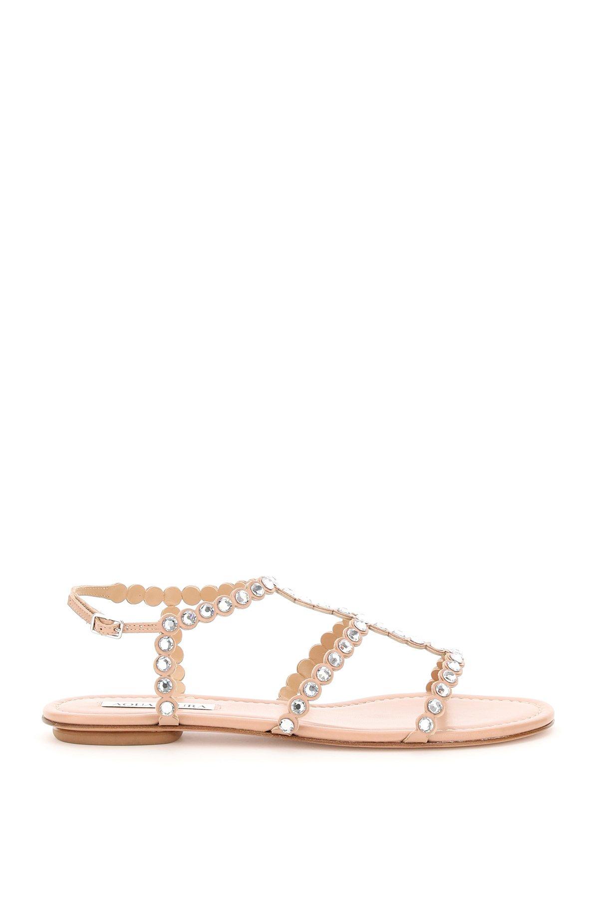 Aquazzura sandali tequila flat