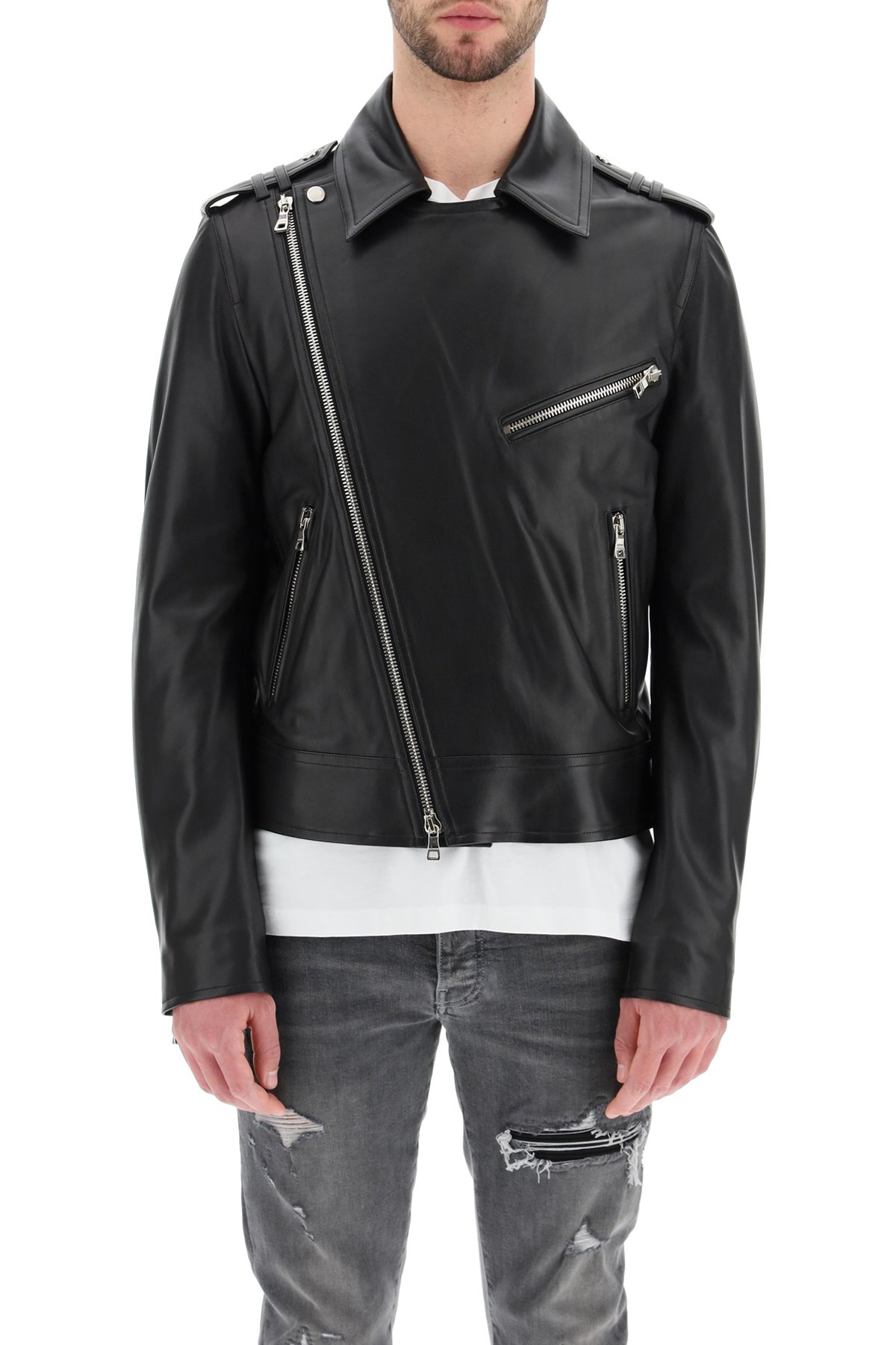 Balmain giacca biker