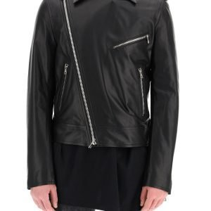 Balmain giacca biker in pelle