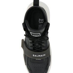 Balmain sneaker alta in pelle b-ball
