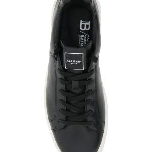 Balmain sneaker in pelle b court