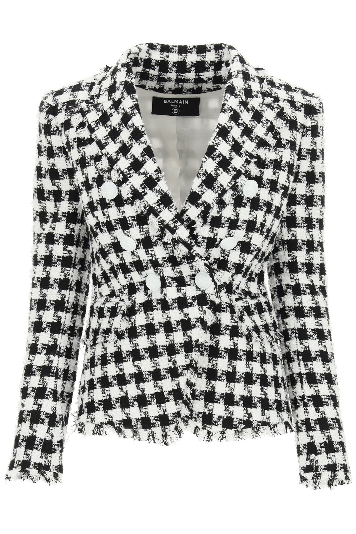 Balmain blazer in tweed
