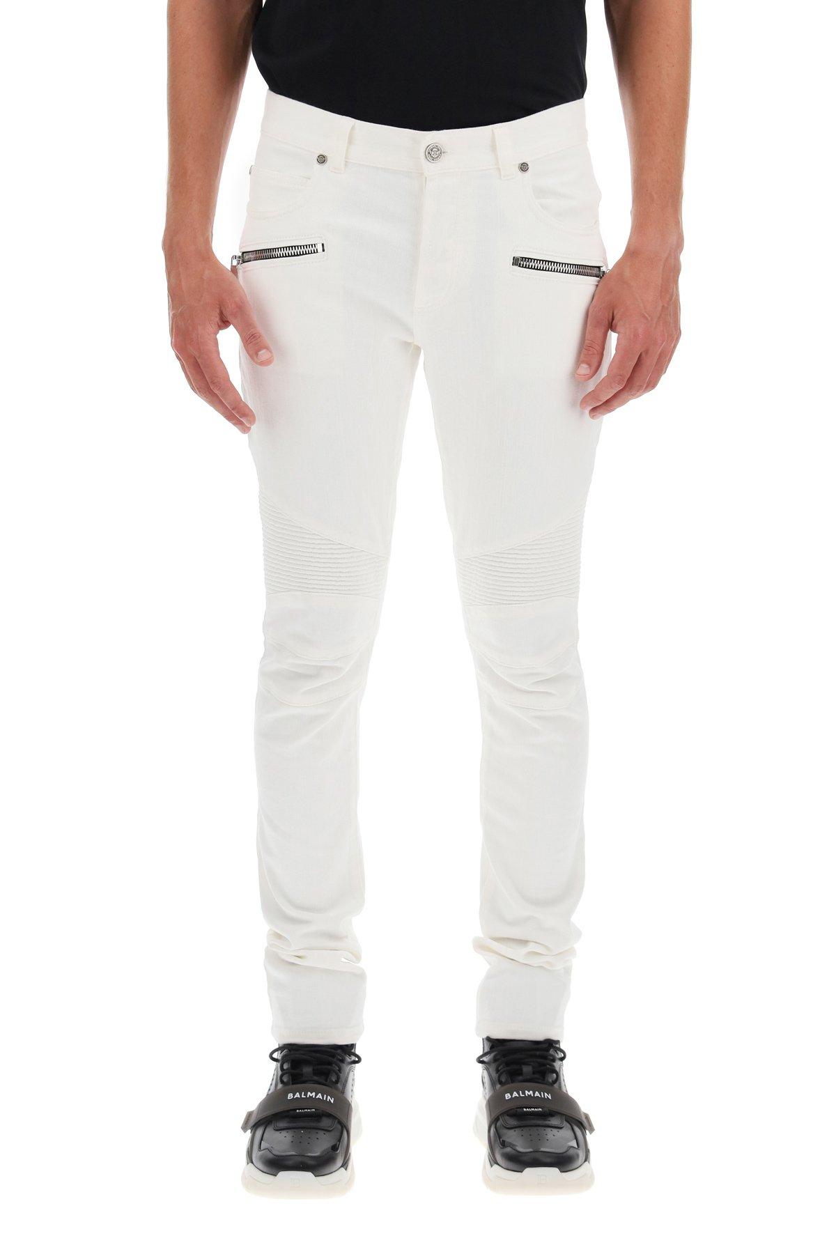 Balmain jeans ribbed slim