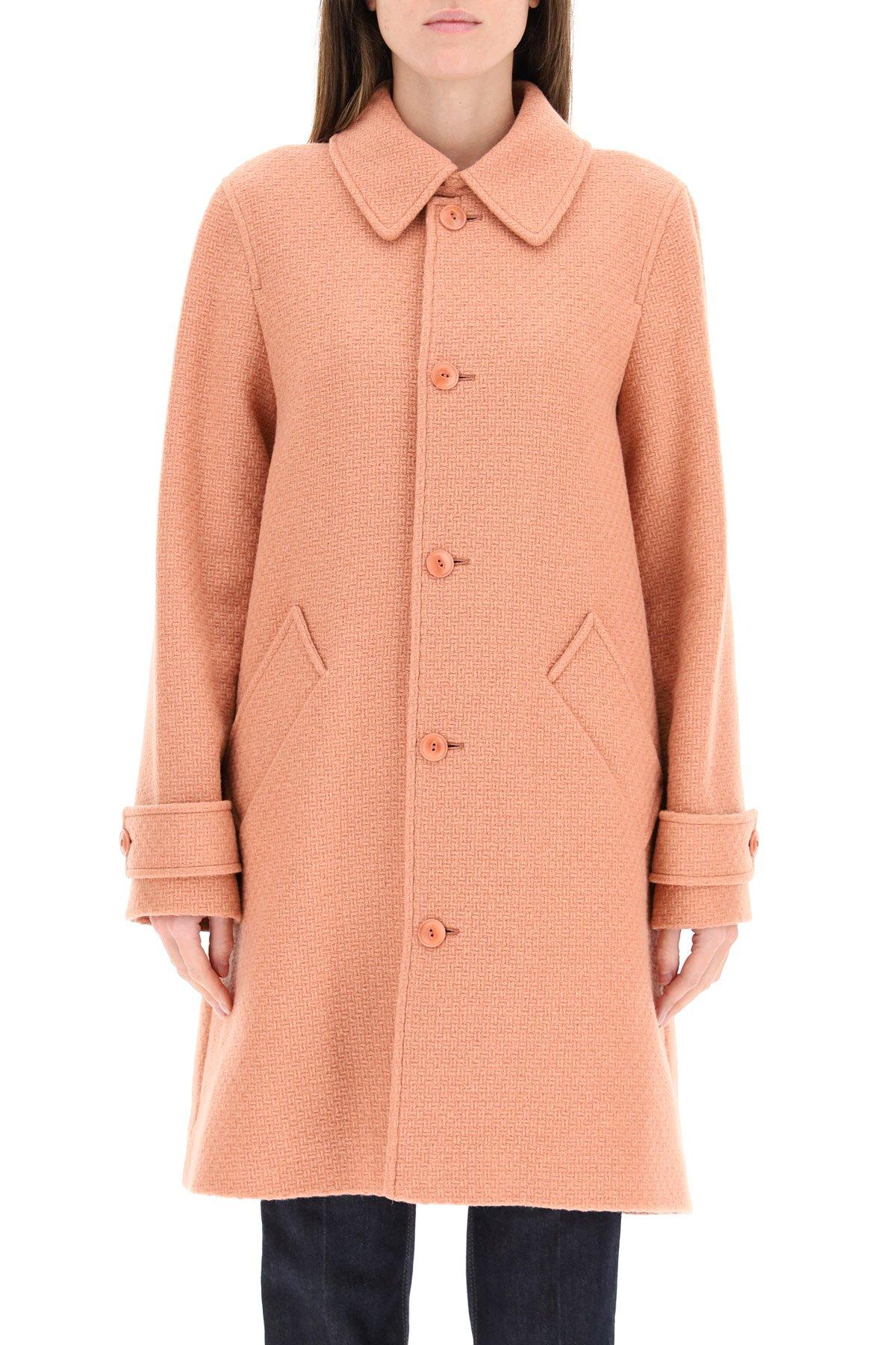 A.p.c. cappotto suzanne in misto lana