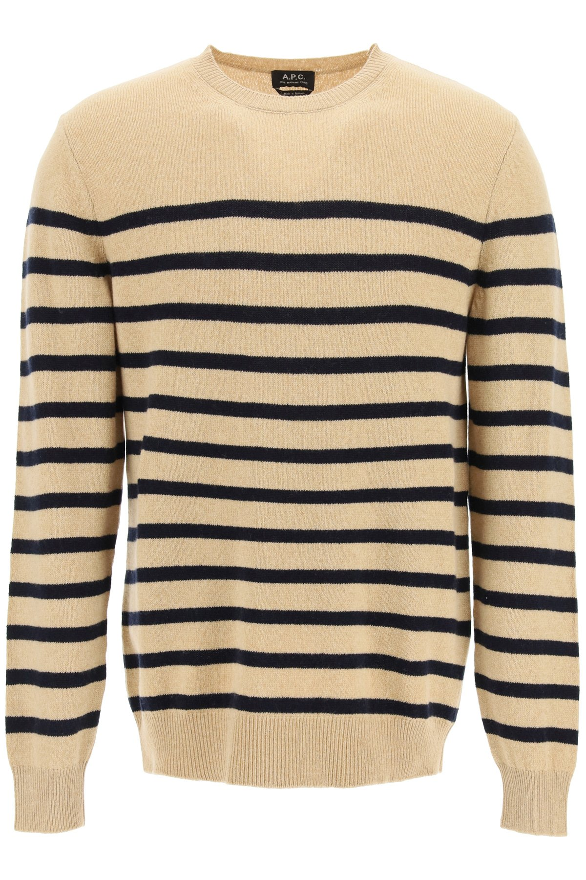 A.p.c. pullover travis a righe