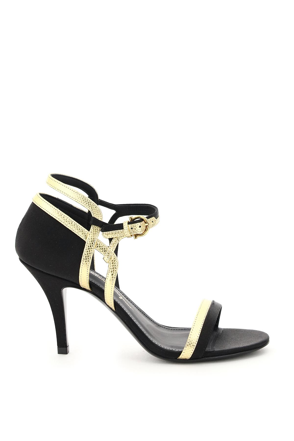 Salvatore ferragamo sandali bicolore malmo
