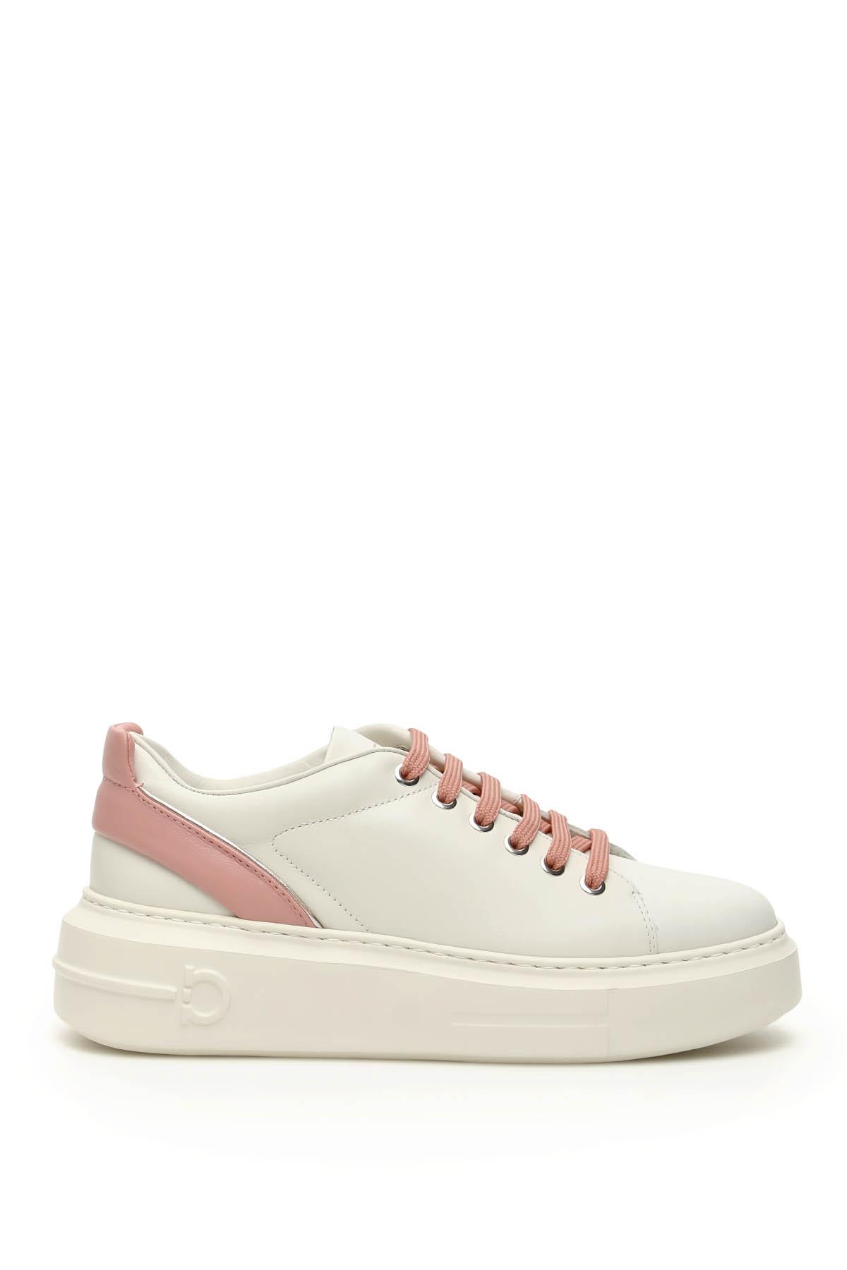 Salvatore ferragamo sneakers in pelle senise