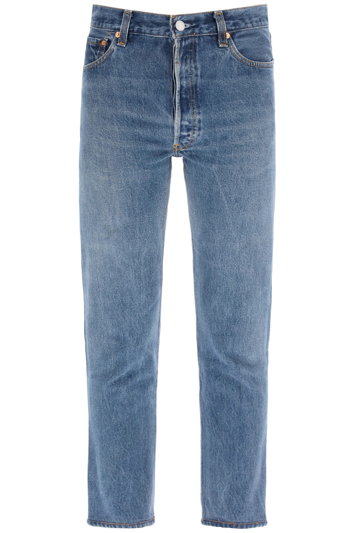 Re/done jeans high rise ankle crop x levi's