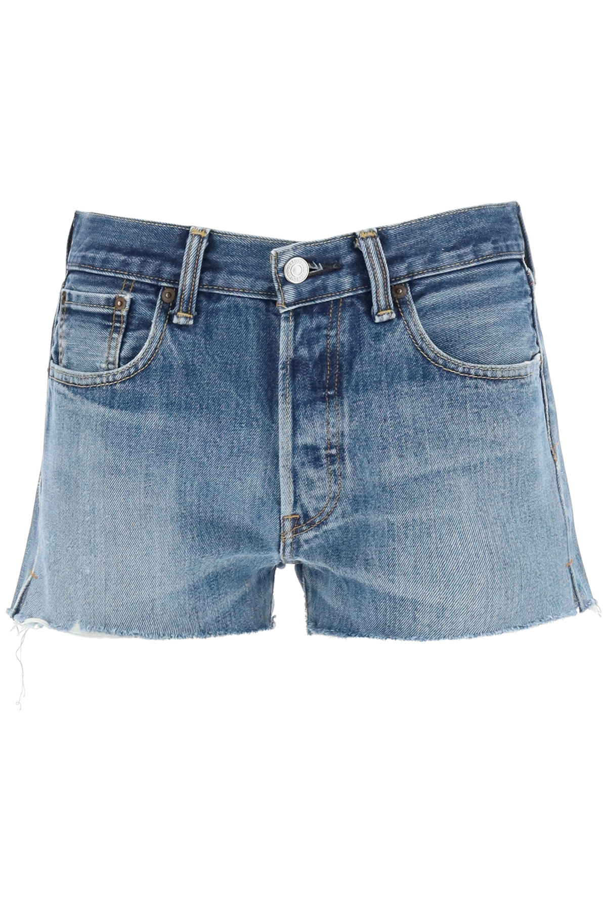 Re/done short in denim levi's