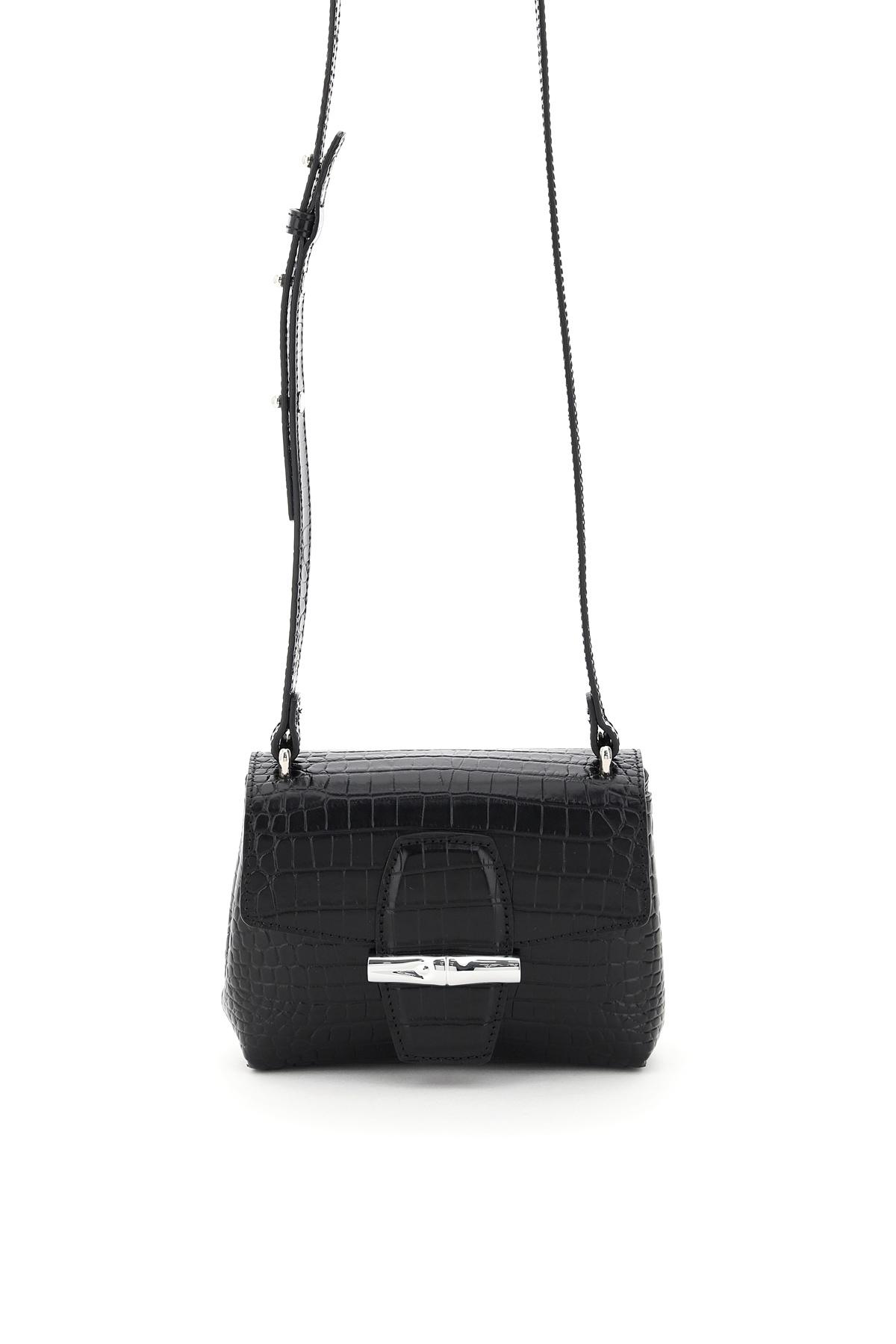 Longchamp borsa a tracolla roseau small