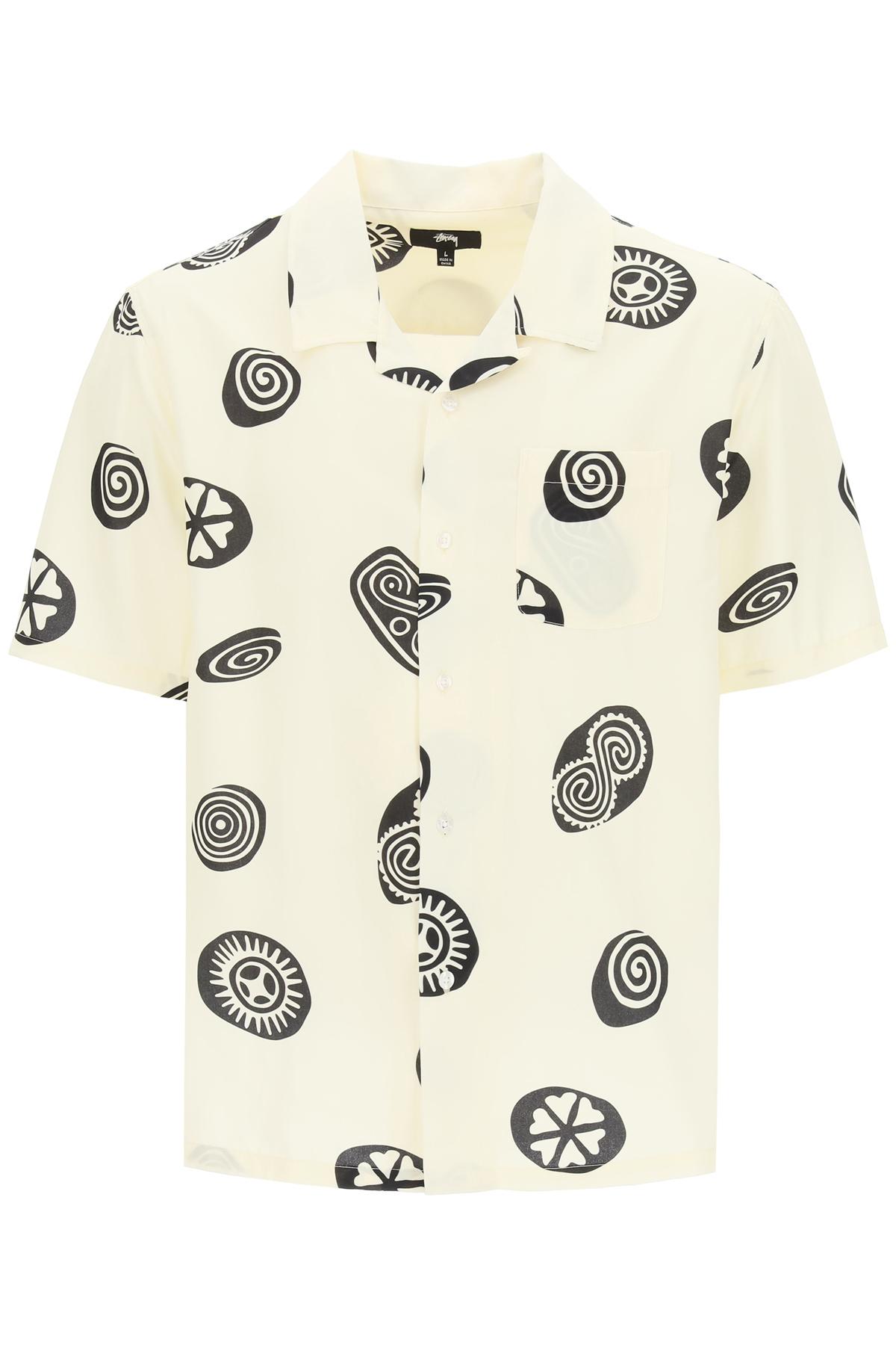 Stussy camicia icon pattern