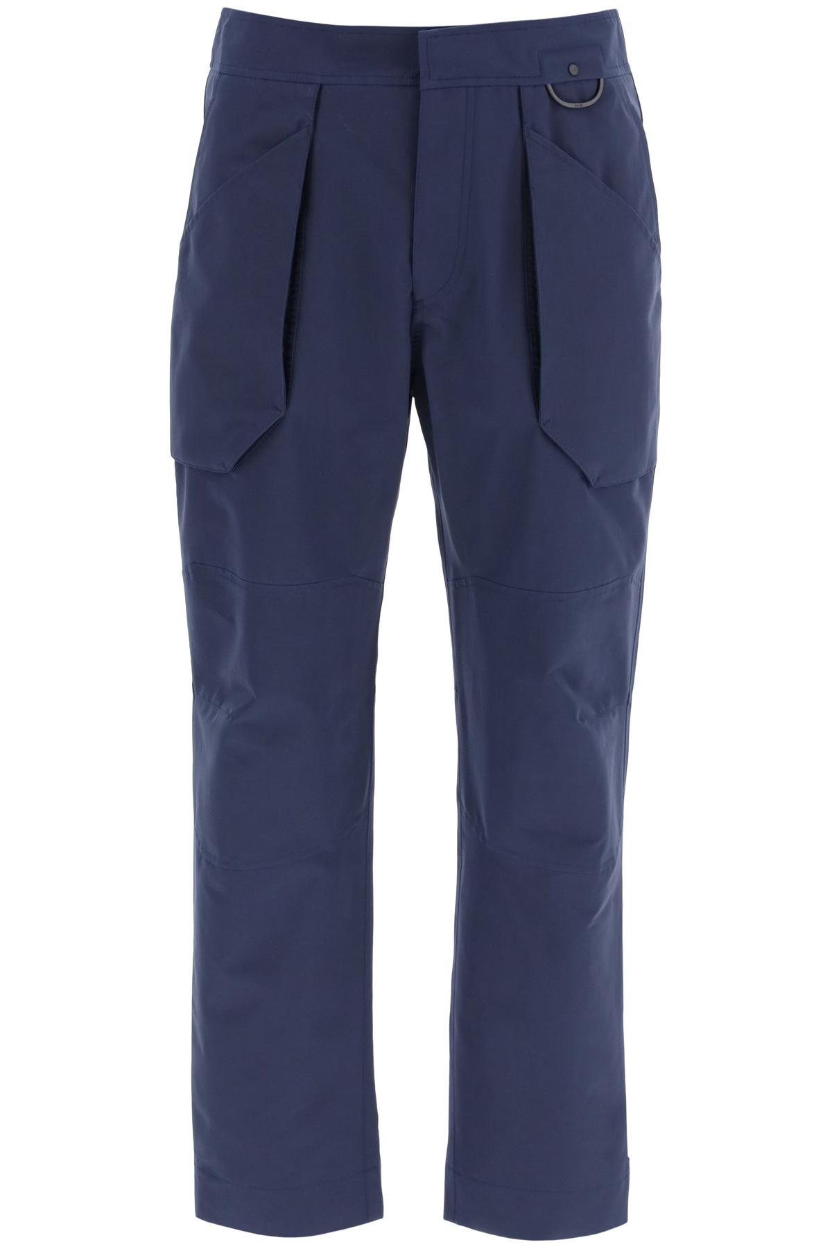 Dior pantaloni sportivi in faille di cotone tecnico