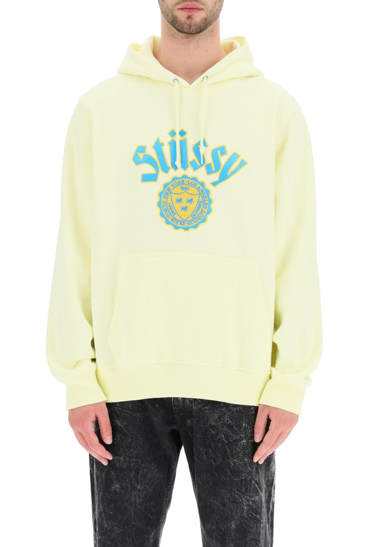 Stussy felpa con cappuccio logo city seal