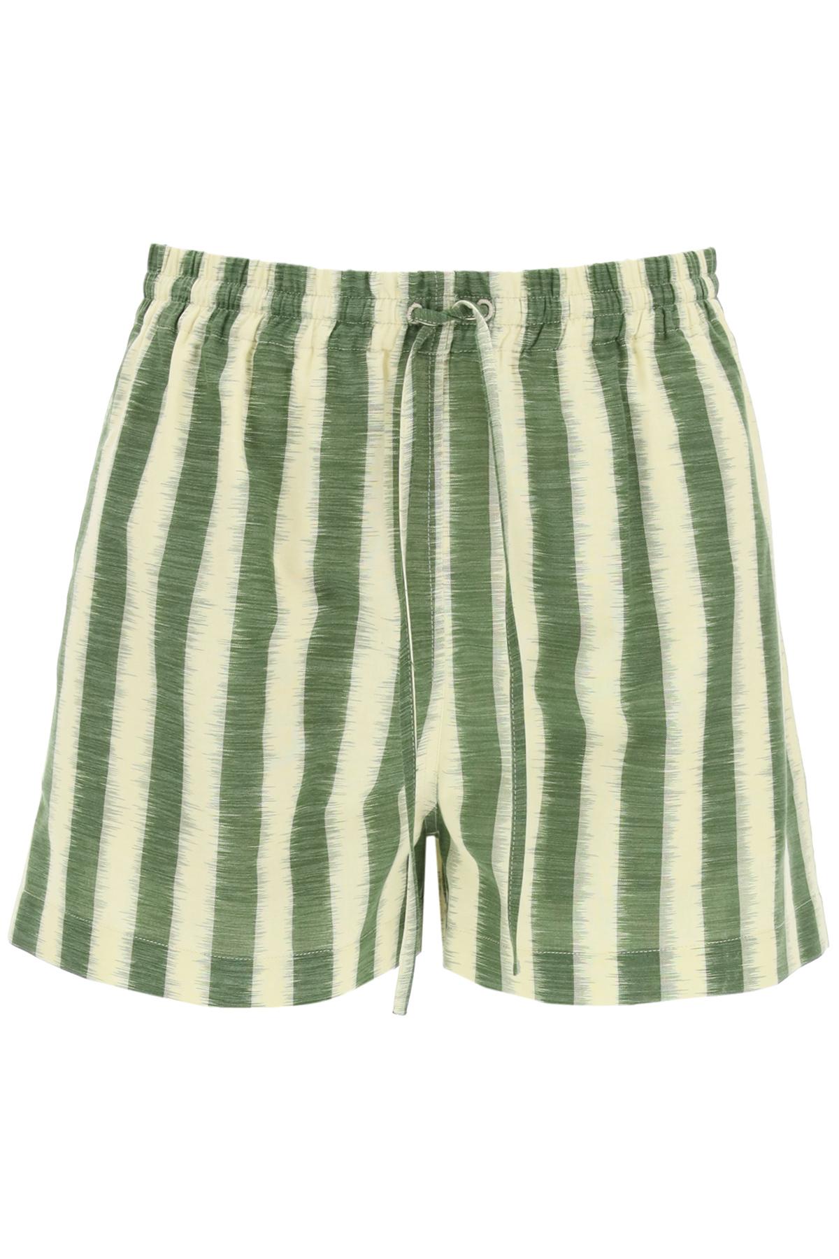 Dior shorts d-stripes