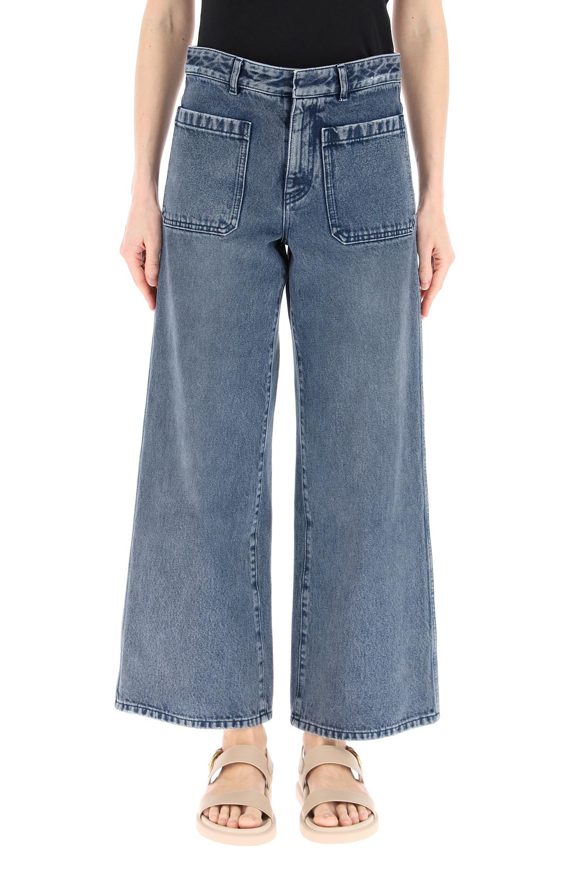 Dior jeans svasati cropped