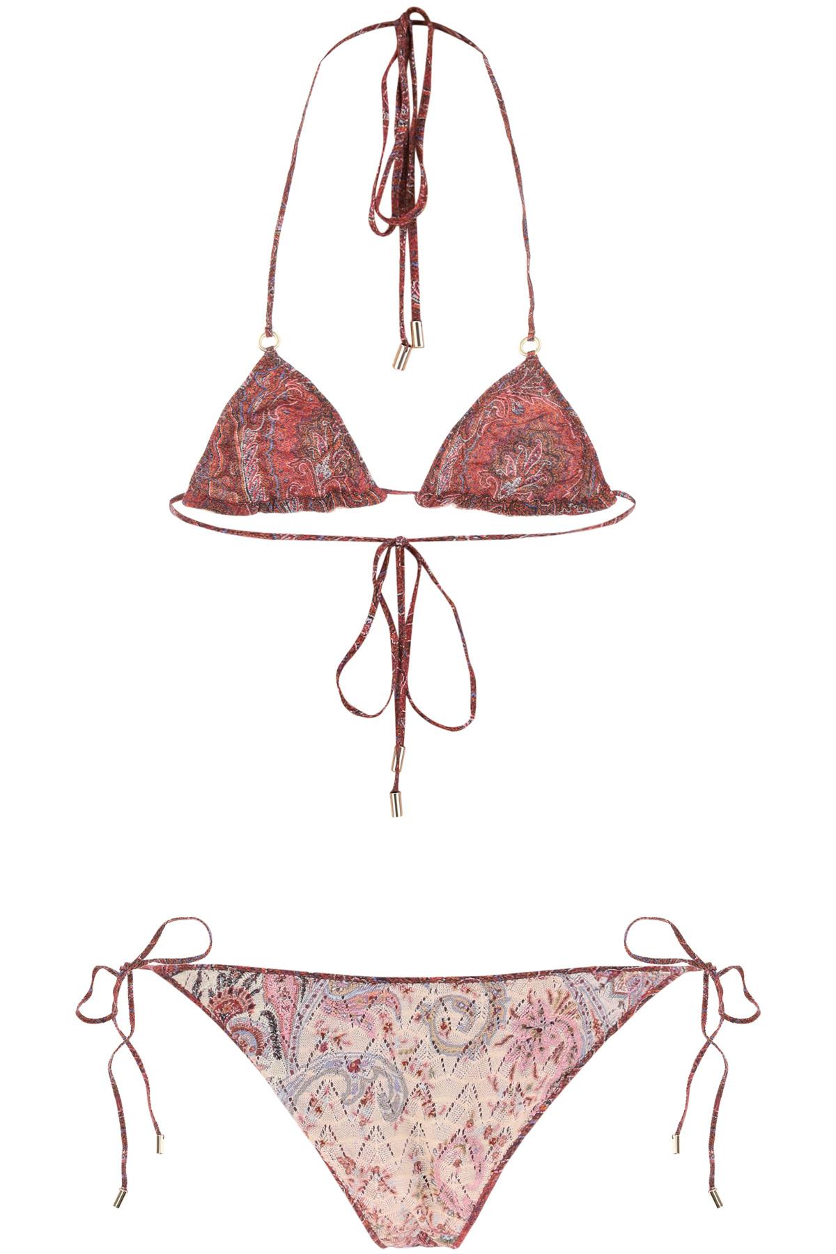 Etro bikini ischia stampa paisley
