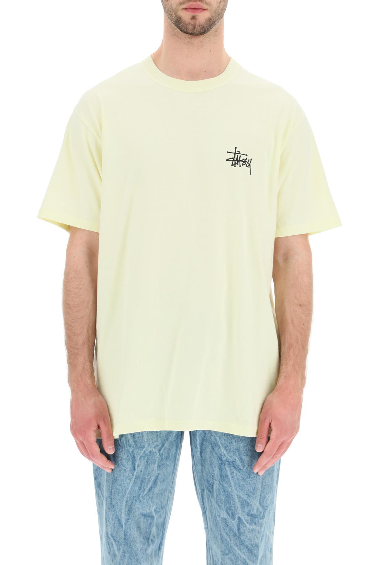 Stussy t-shirt stampa basic stussy