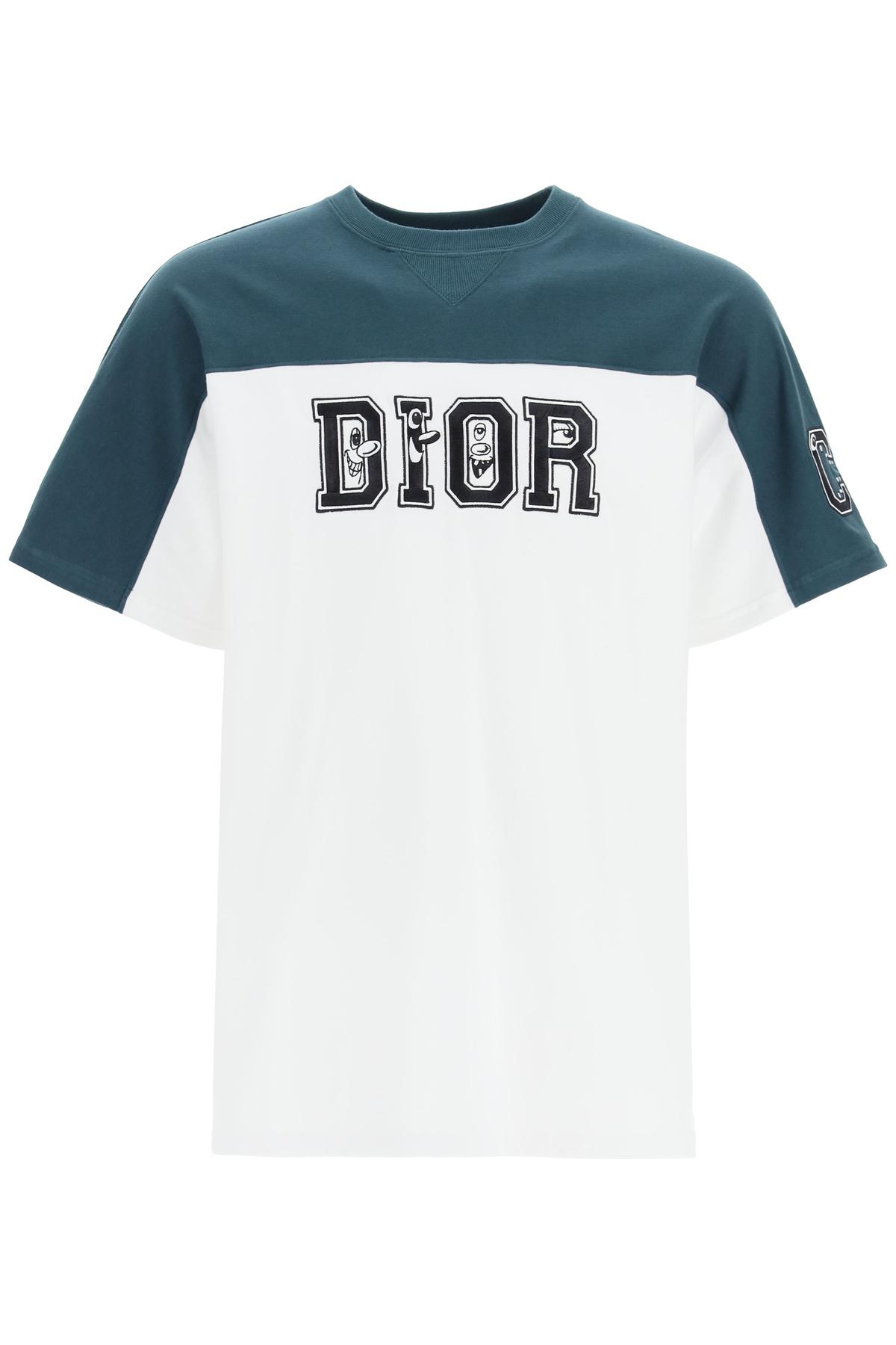 Dior t-shirt maxi logo
