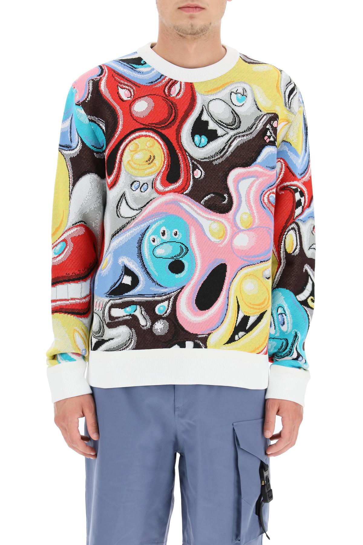 Dior maglione fantasia cartoon