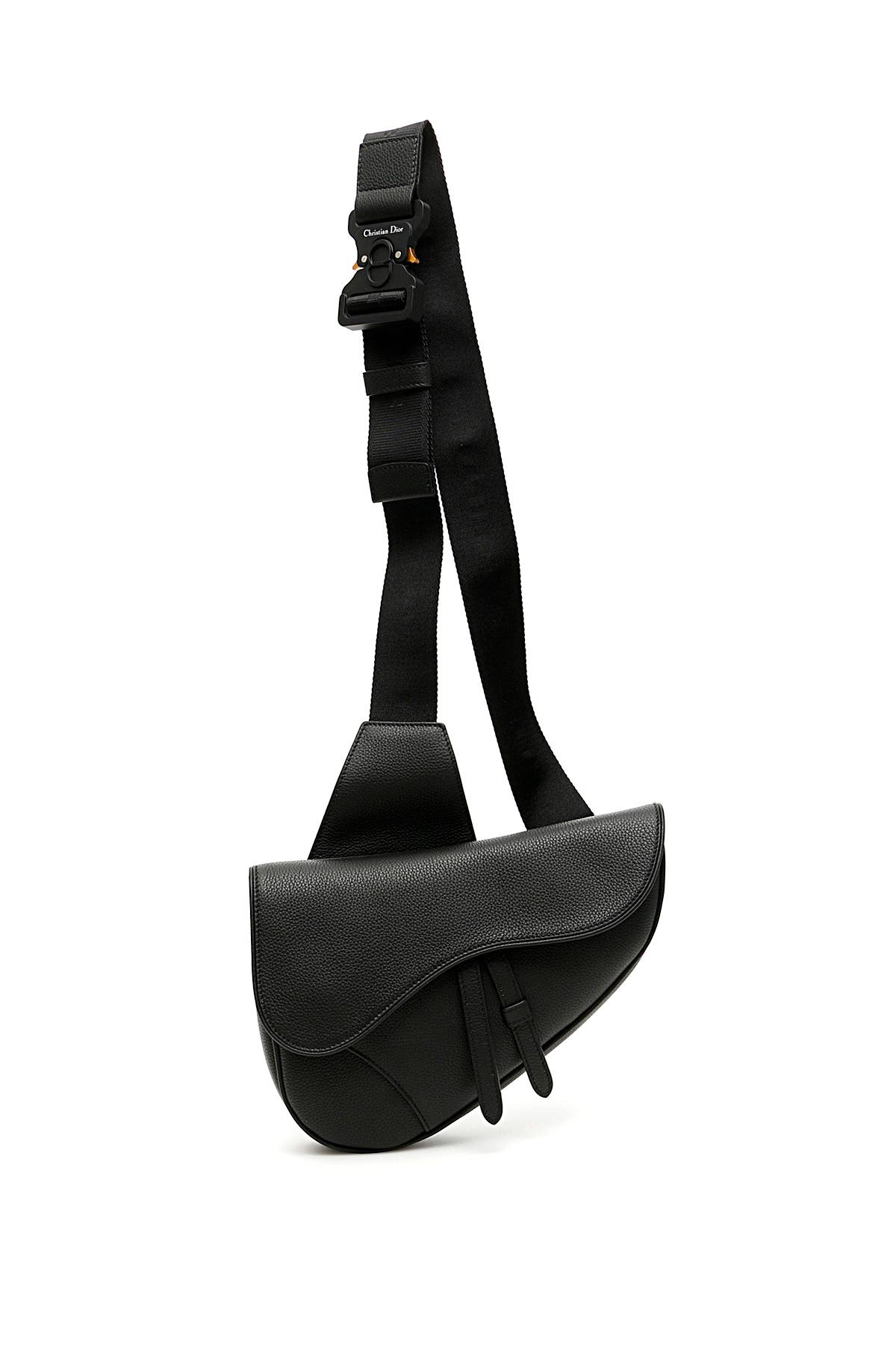 Dior borsa saddle in pelle