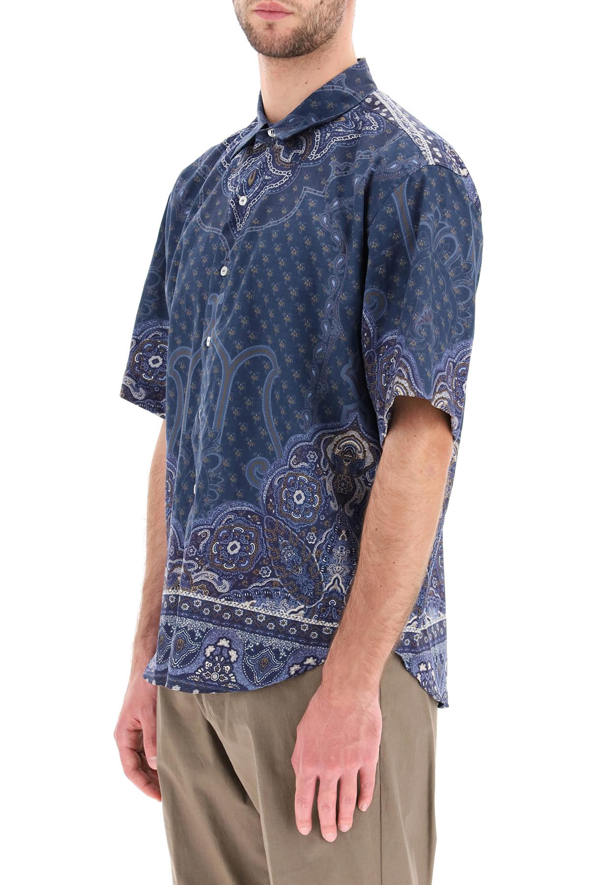 Etro camicia maniche corte