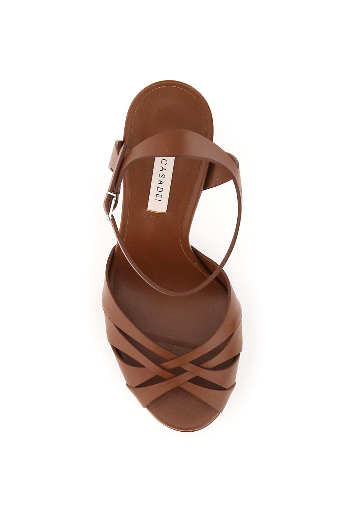 Casadei sandali platform felina