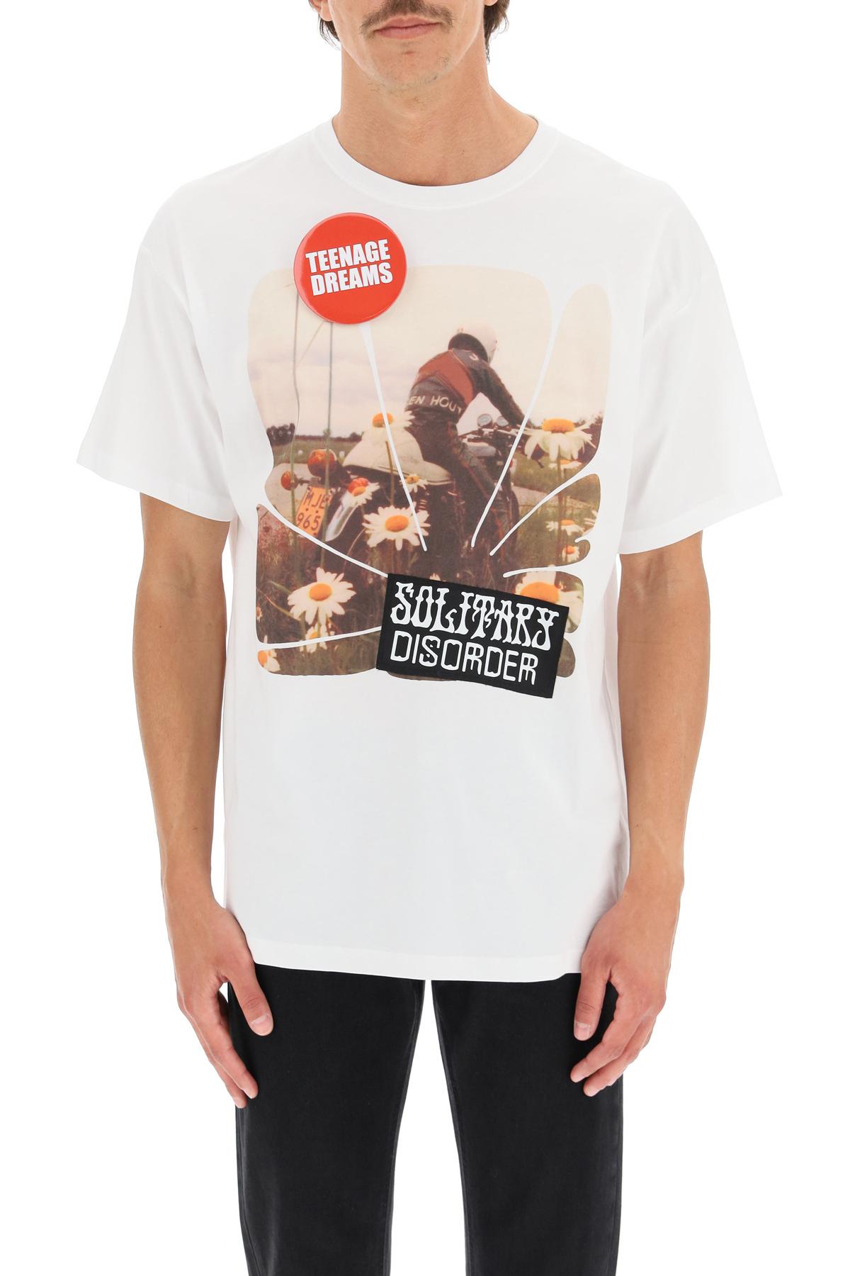 Raf simons t-shirt solitary disorder