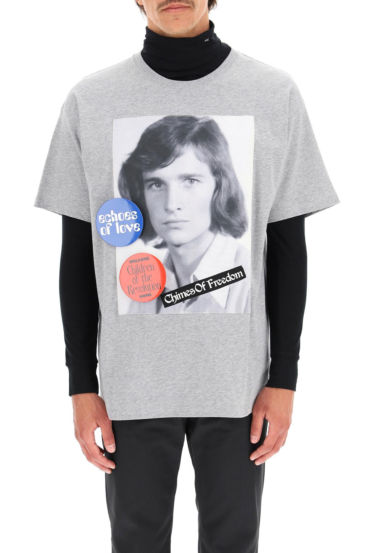 Raf simons t-shirt chimes of freedom