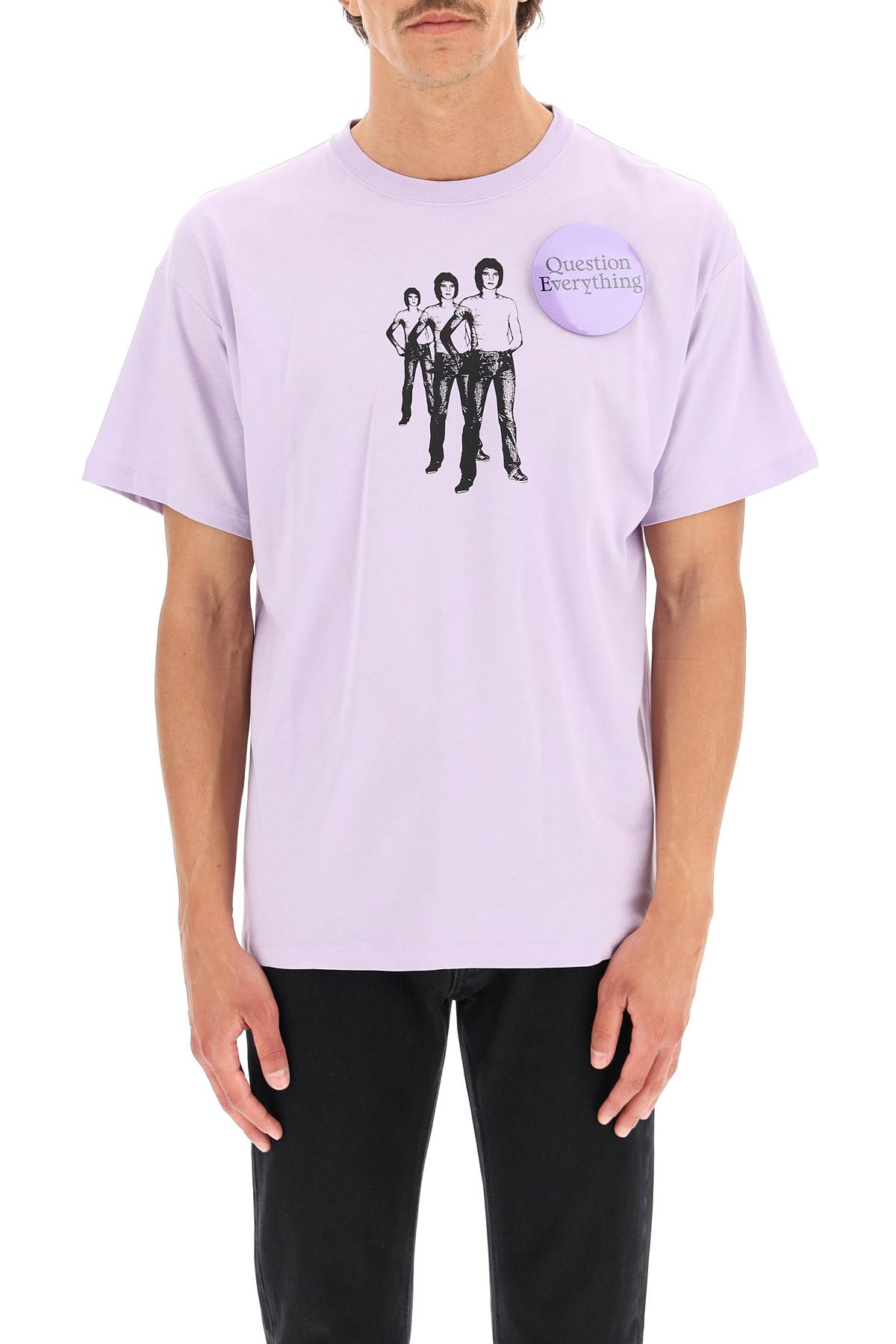 Raf simons t-shirt question everything