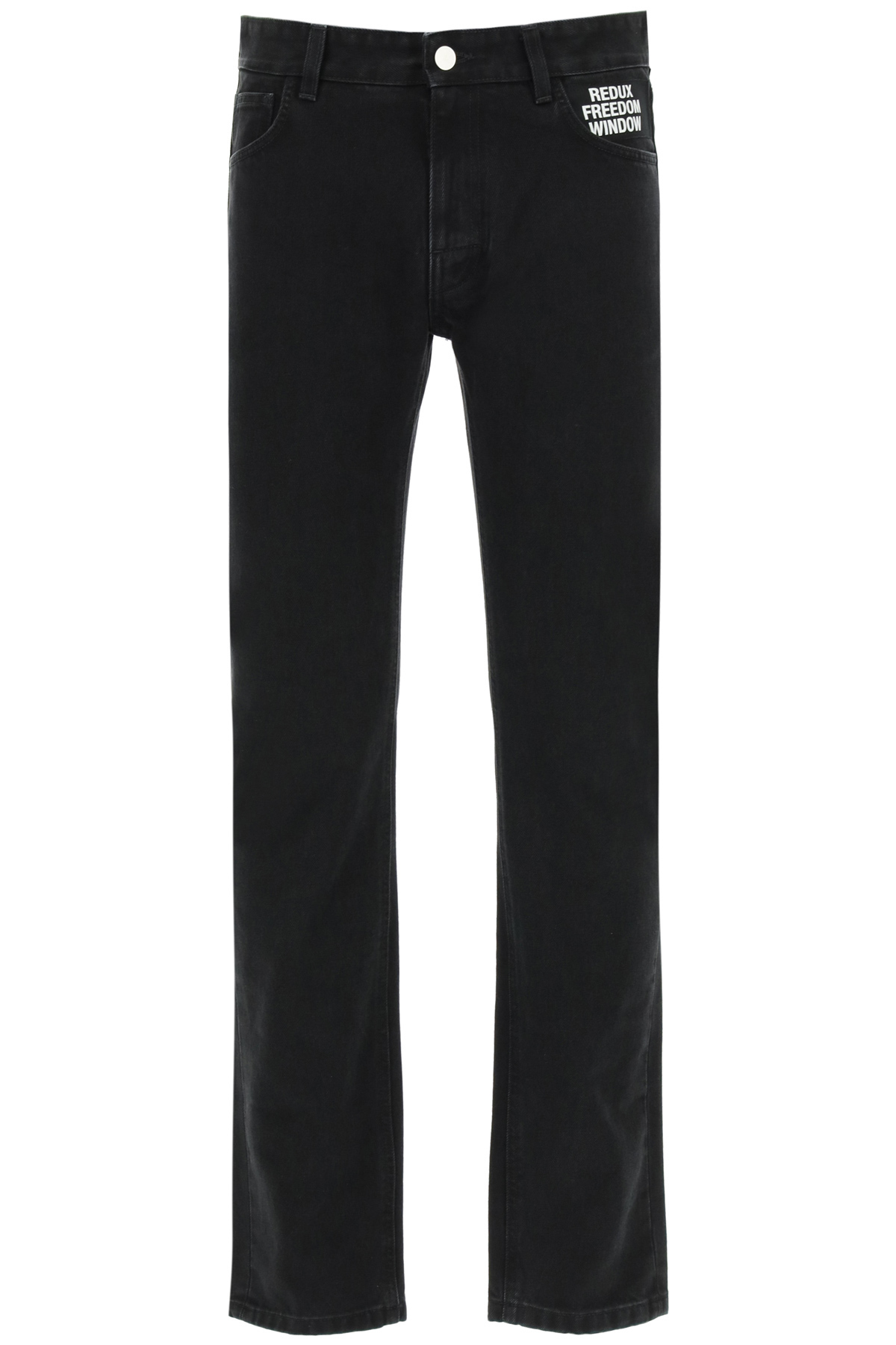 Raf simons jeans redux freedom window