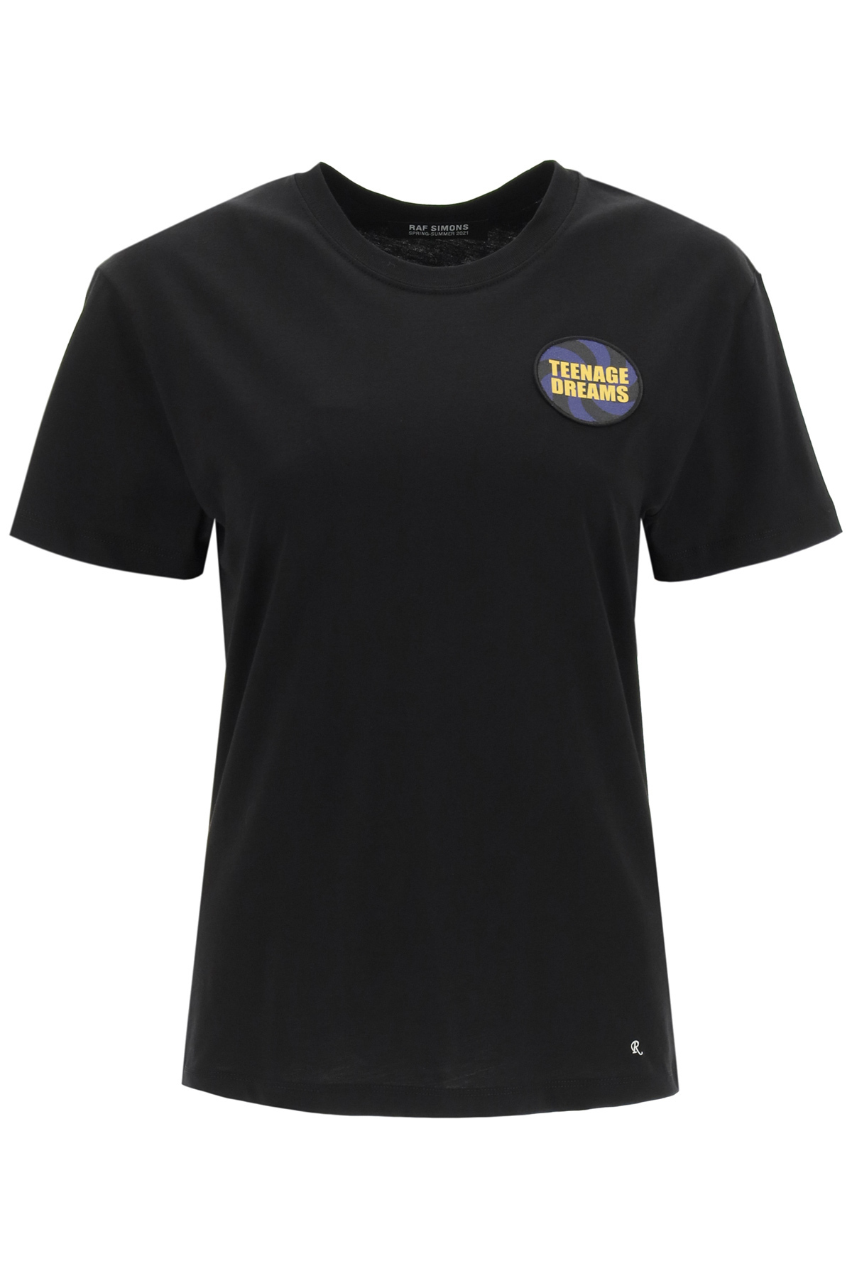 Raf simons t-shirt con patch teenage dreams