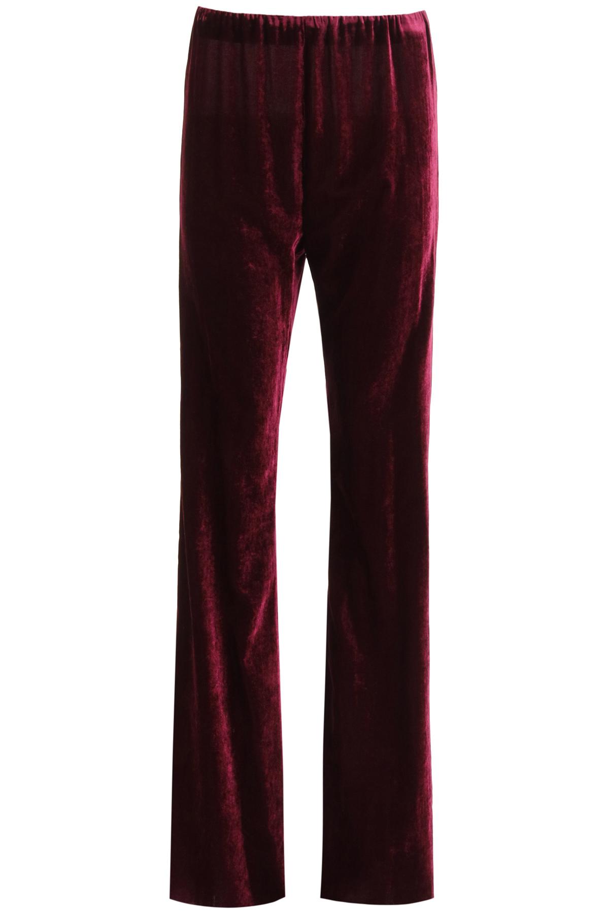 Raf simons pantaloni in velluto