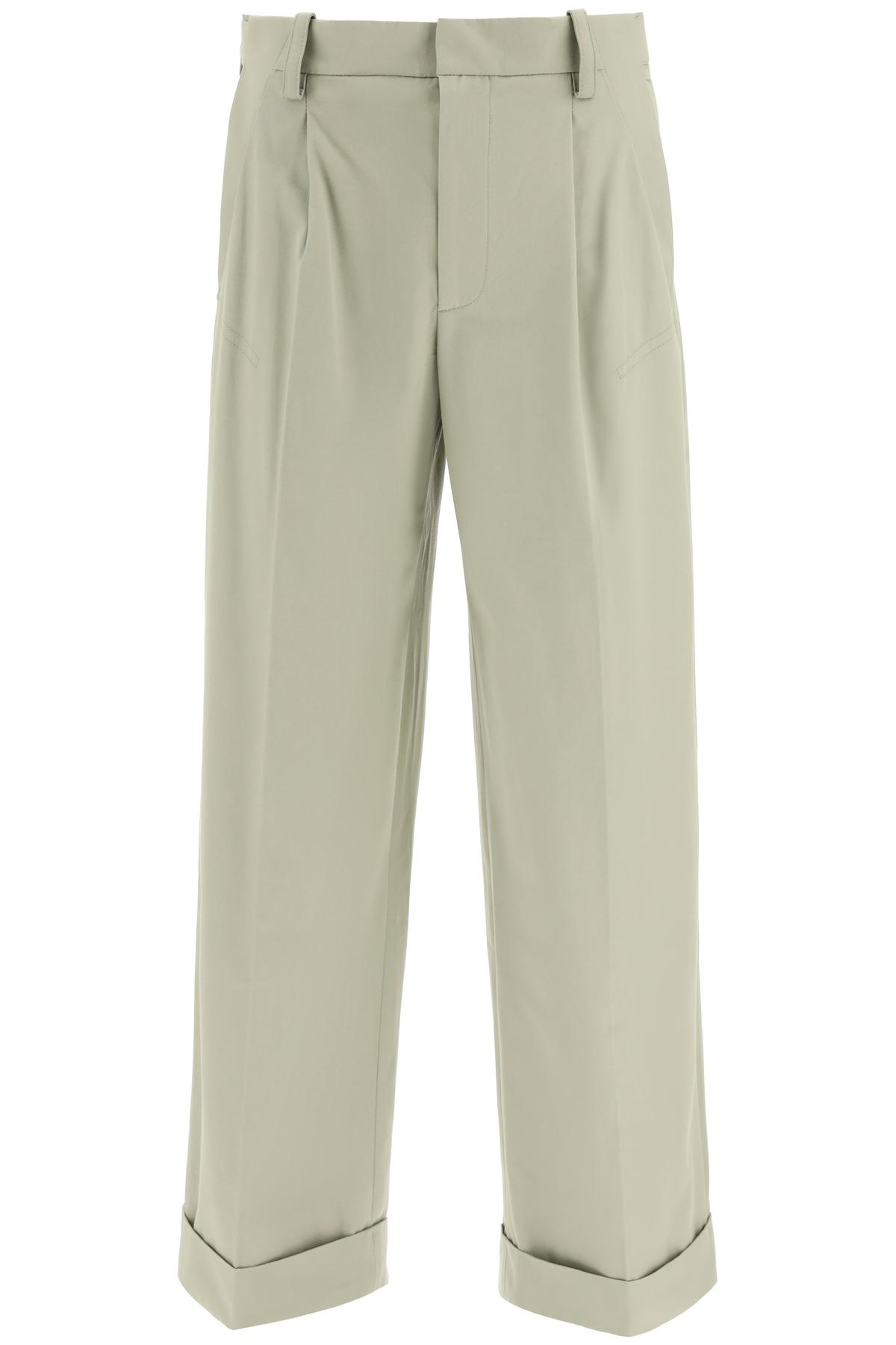Jacquemus pantaloni novi in cotone