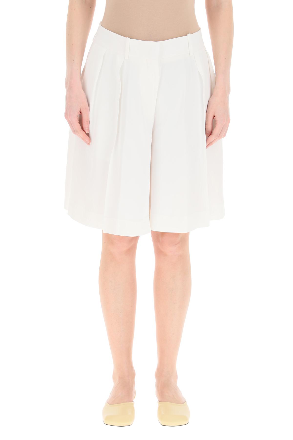 Khaite shorts isabel in cady