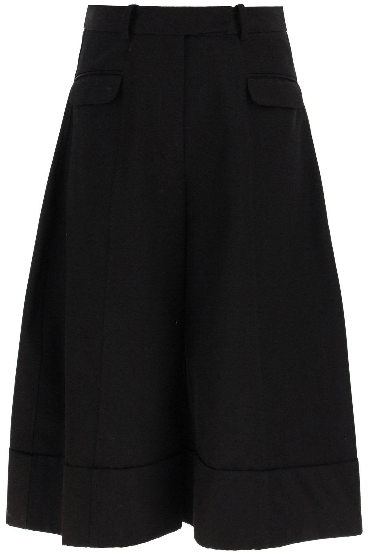 Simone rocha pantaloni culotte sagomati