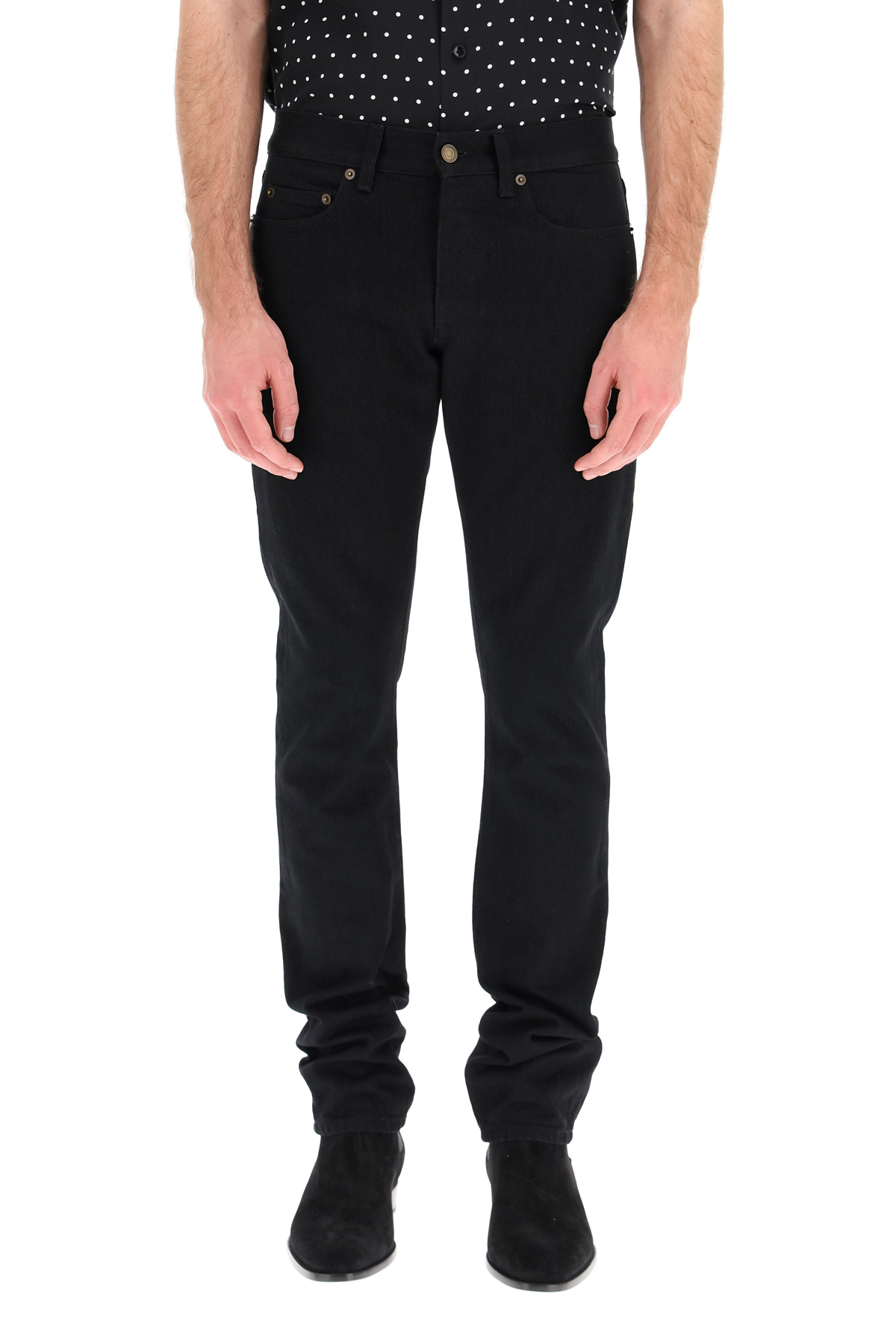 Saint laurent jeans slim cinque tasche