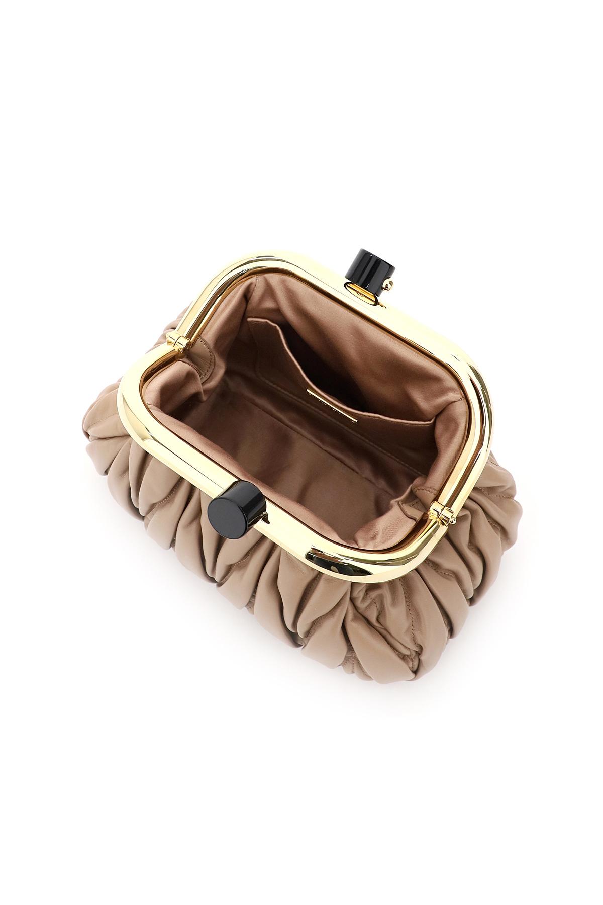 Miu miu borsa pochette nappa matelasse miu belle
