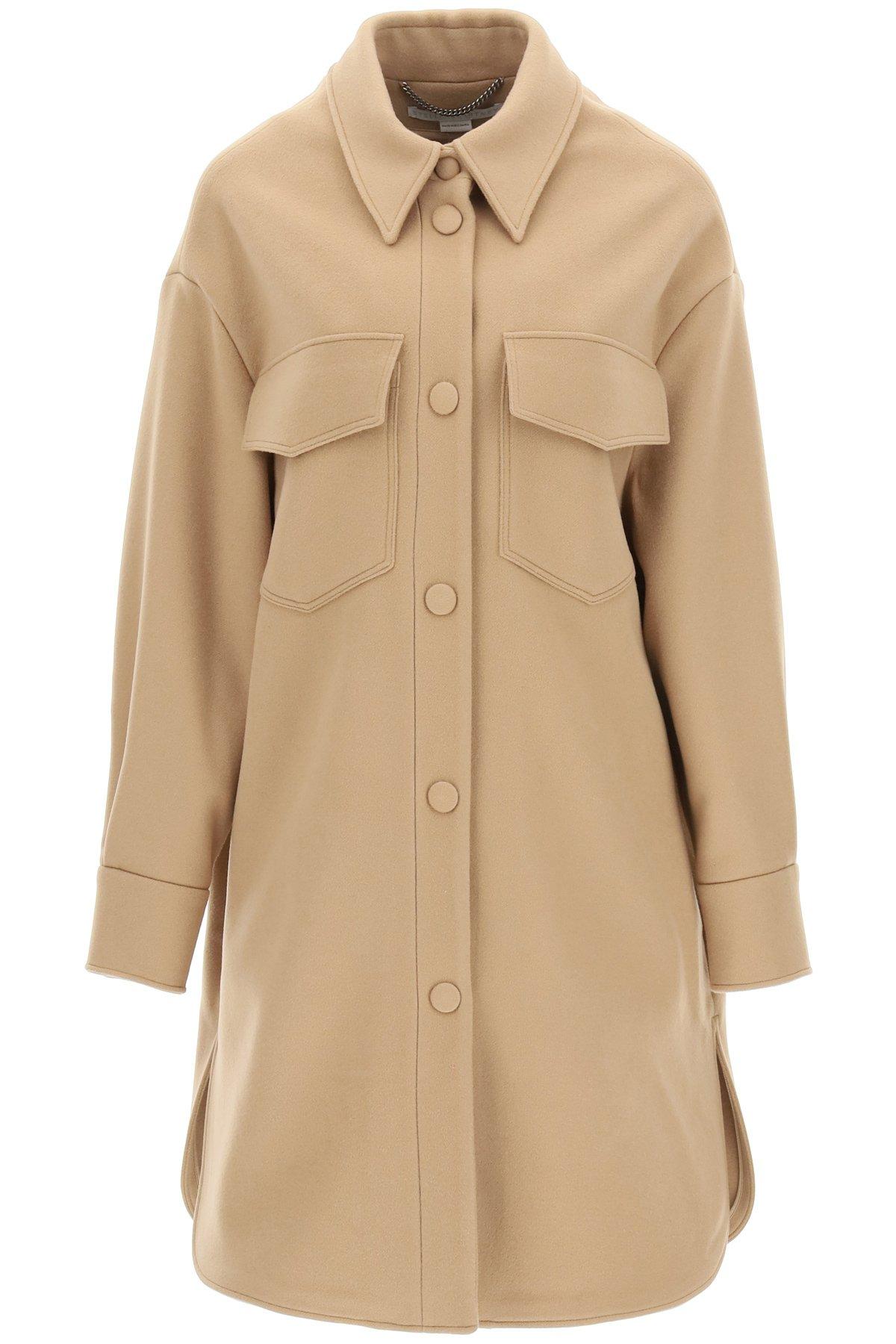 Stella mccartney cappotto kerry in lana