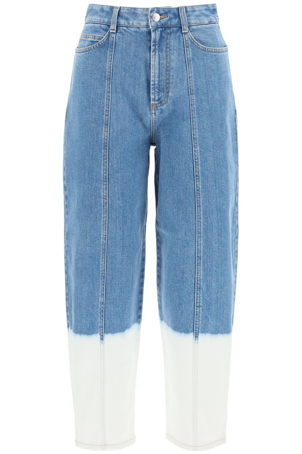 Stella mccartney jeans effetto sbiadito dip
