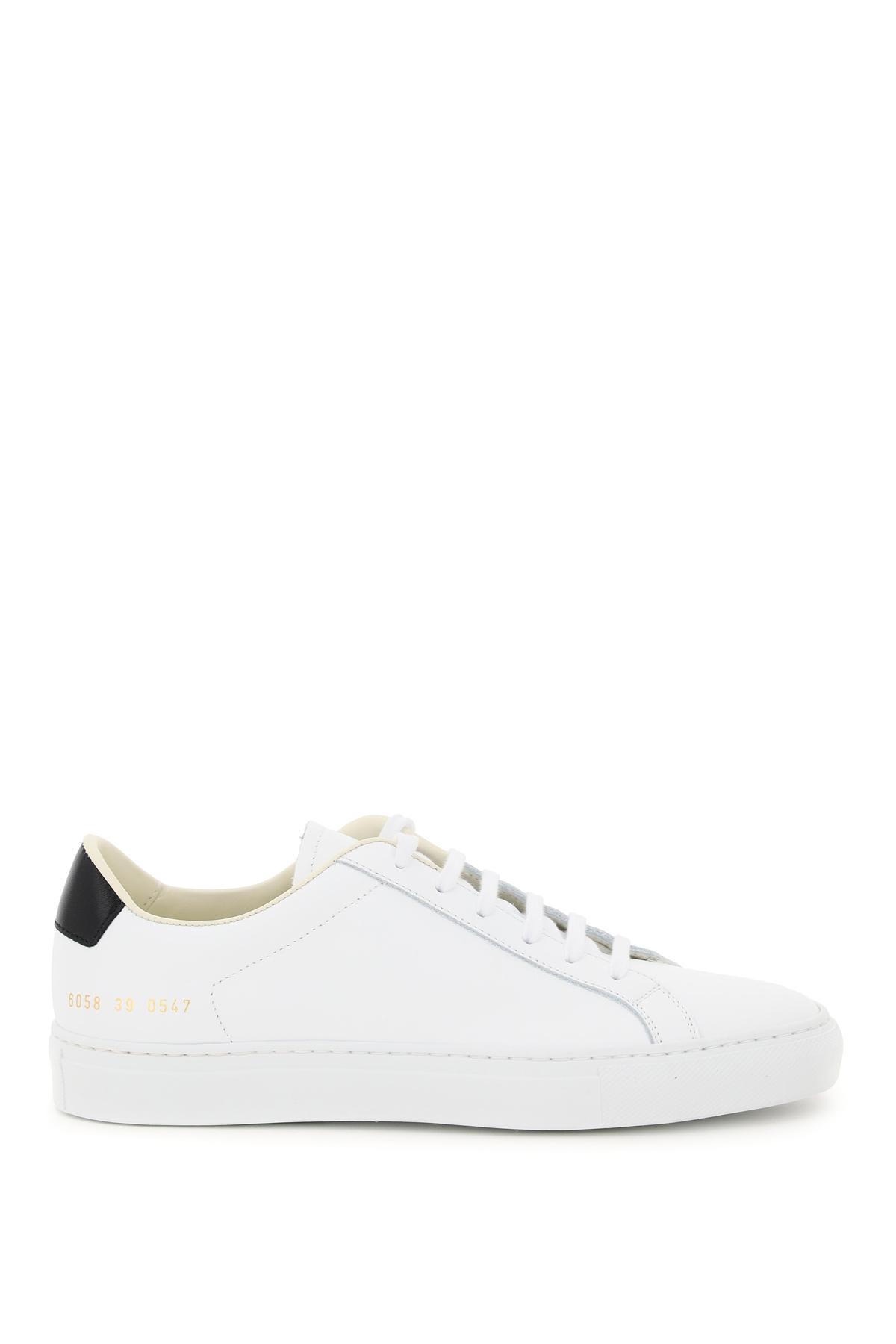 Common projects sneaker in pelle retro low
